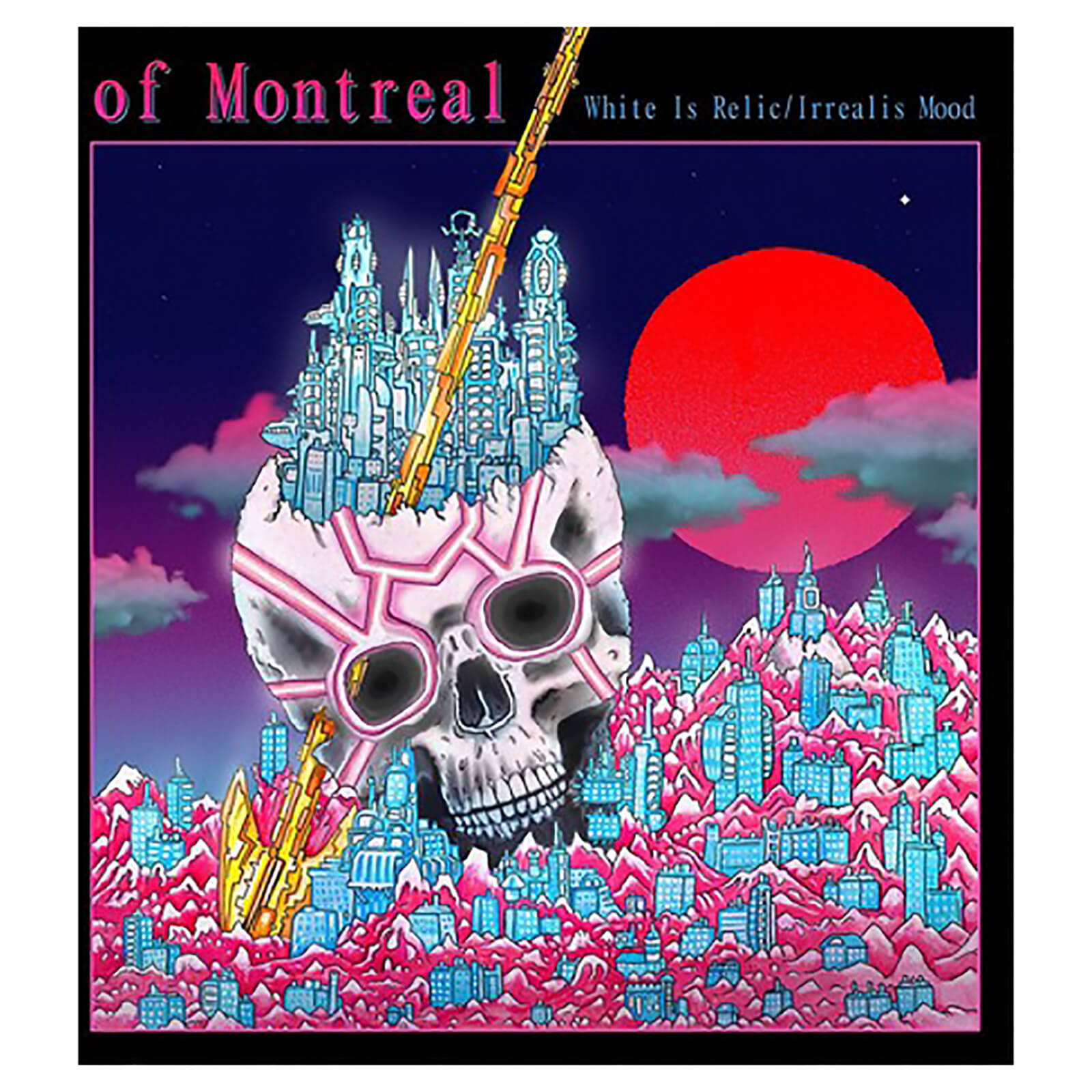 Of Montreal - White Is Relic/Irrealis Mood - Vinyl
