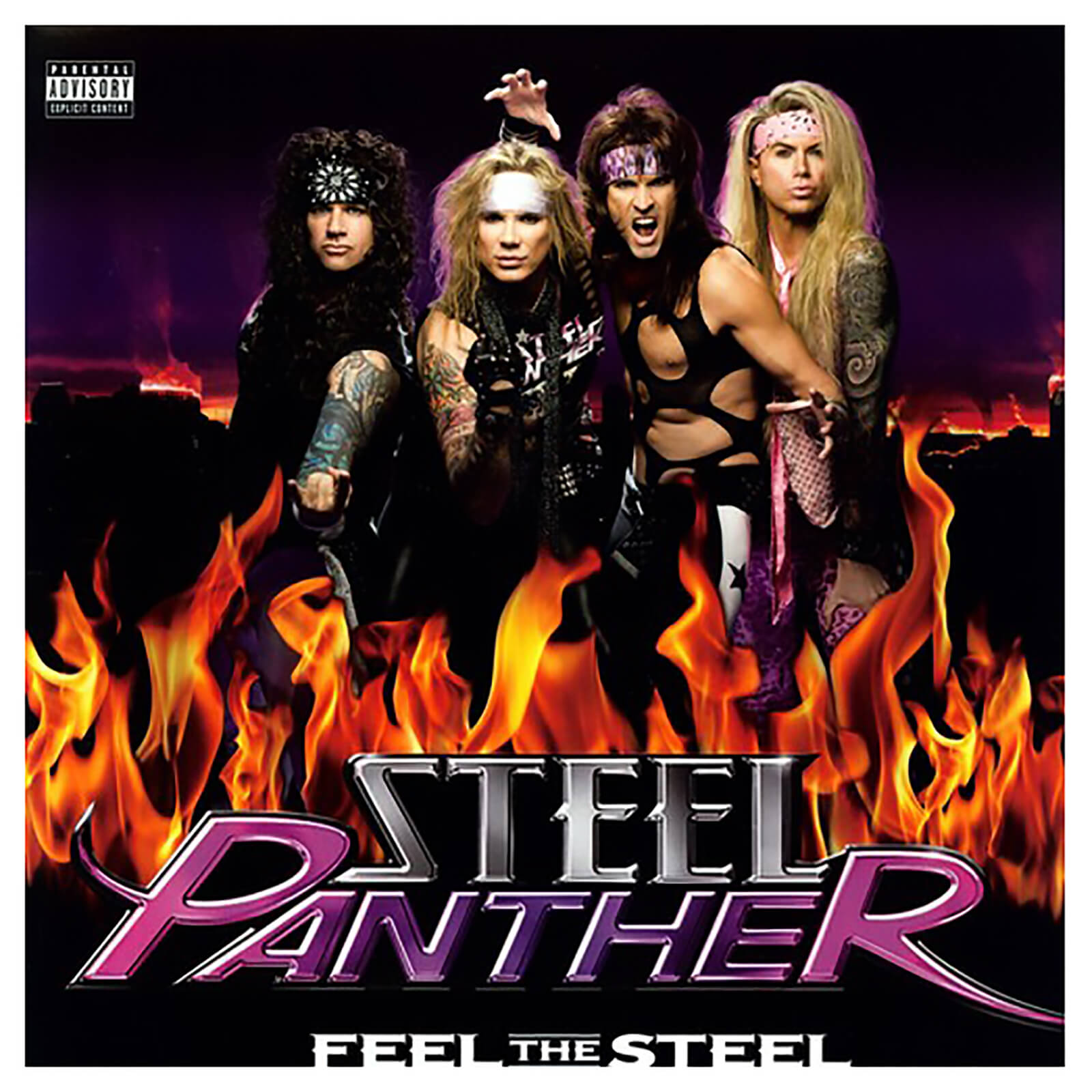 Steel Panther - Feel The Steel - Vinyl