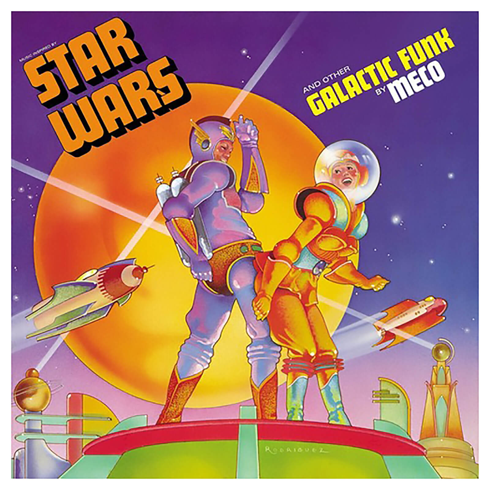 Music Inspired By Star Wars & Other Galactic Funk Vinyl