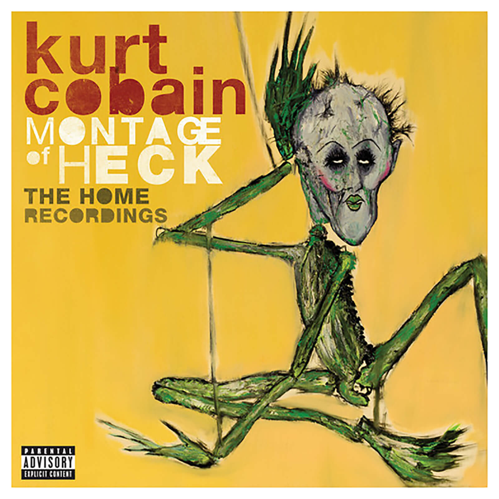 Kurt Cobain - Montage Of Heck: The Home Recordings - Vinyl