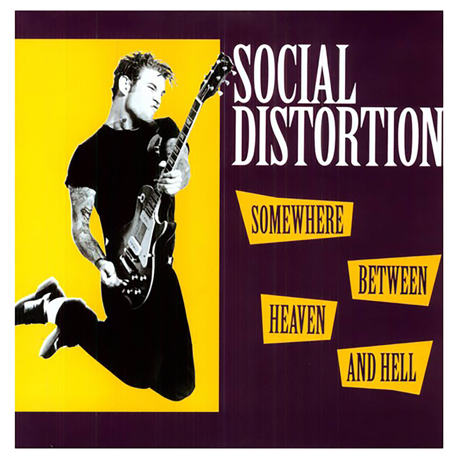 Social Distortion - Somewhere Between Heaven And Hell - Vinyl