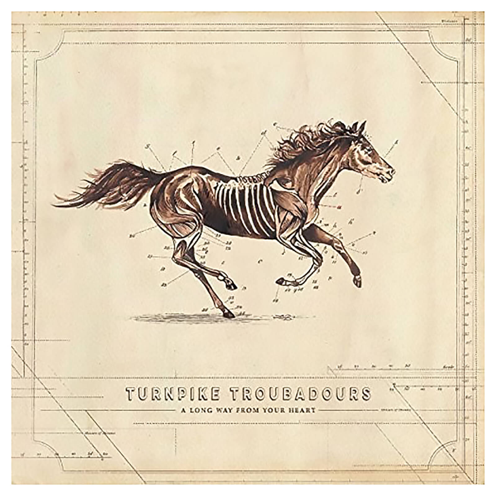 Turnpike Troubadours - Long Way From Your Heart - Vinyl