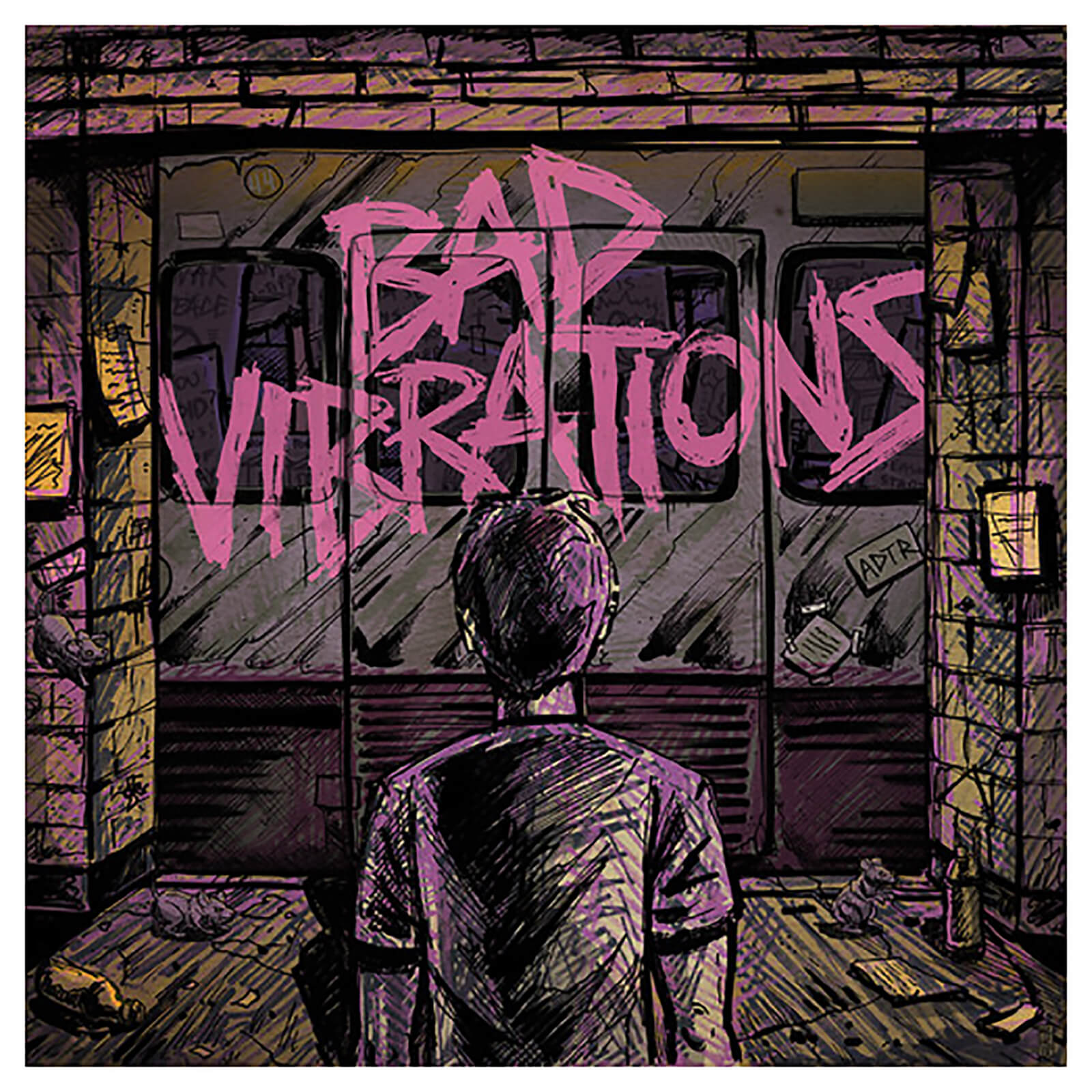 Day To Remember - Bad Vibrations - Vinyl