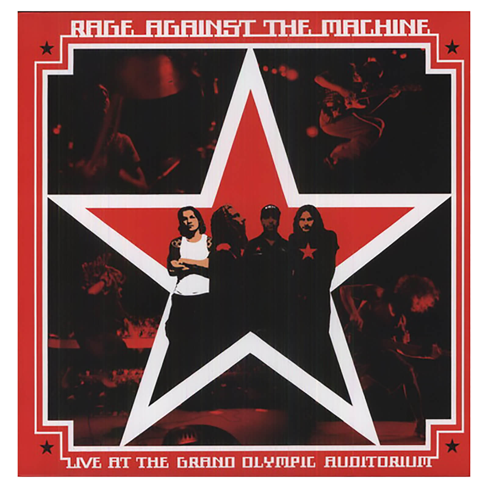 Rage Against The Machine - Live At The Grand Olympic Auditorium - Vinyl