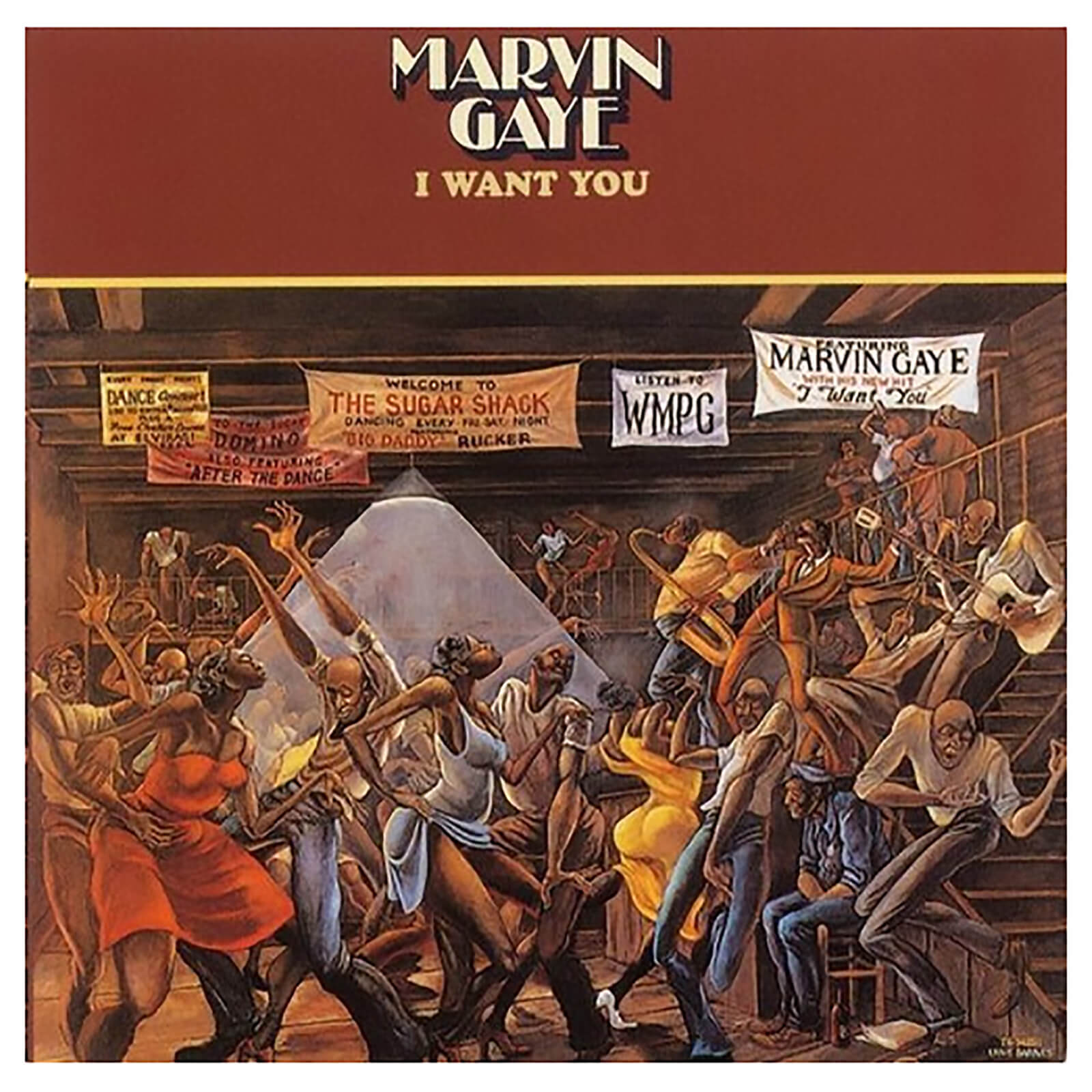 Marvin Gaye - I Want You - Vinyl