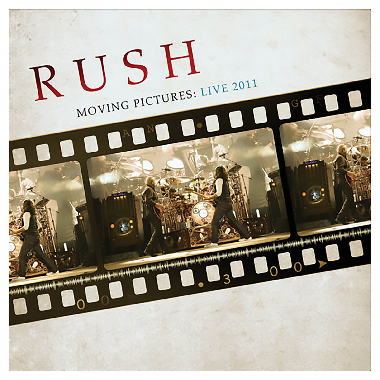 Rush - Moving Pictures: Live 2011 - Vinyl