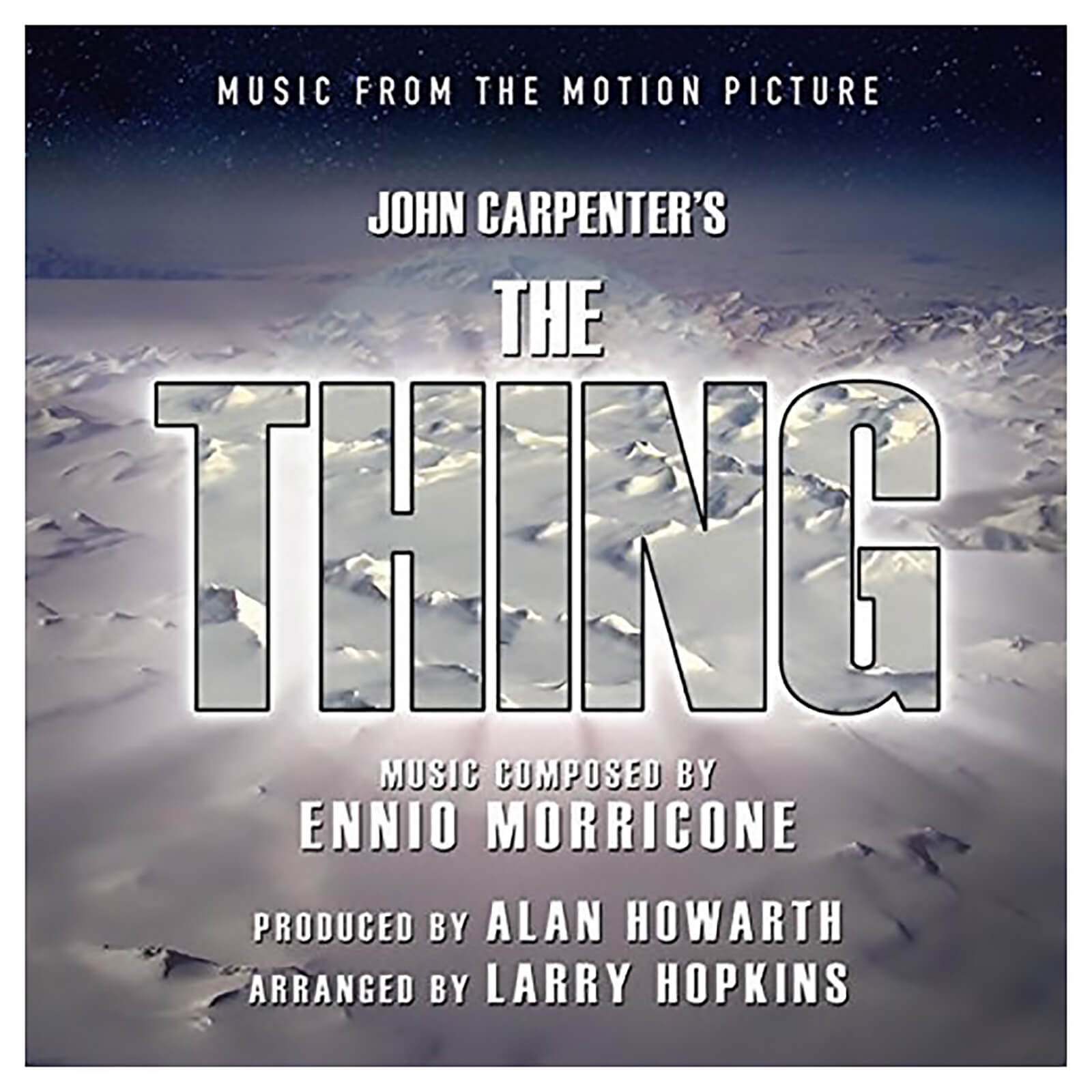 Alan Howarth / Larry Hopkins - Thing (Music From The Motion Picture) - Vinyl