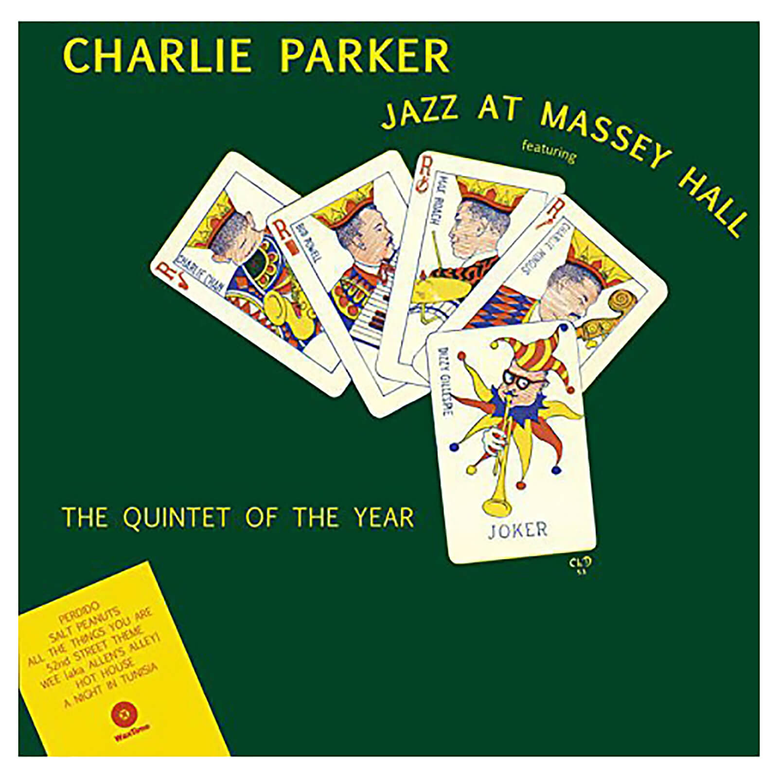 Charlie Parker - Jazz At Massey Hall - Vinyl