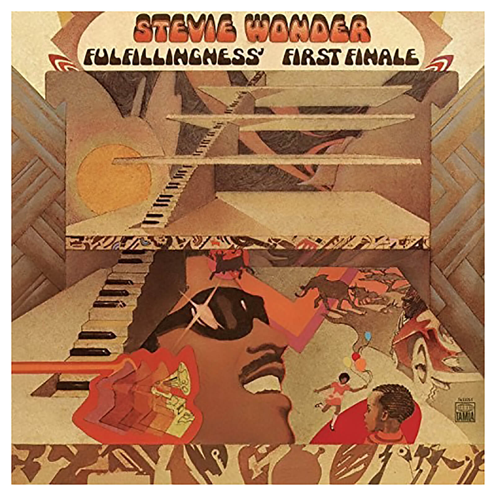 Stevie Wonder - Fulfillingness First Finale - Vinyl