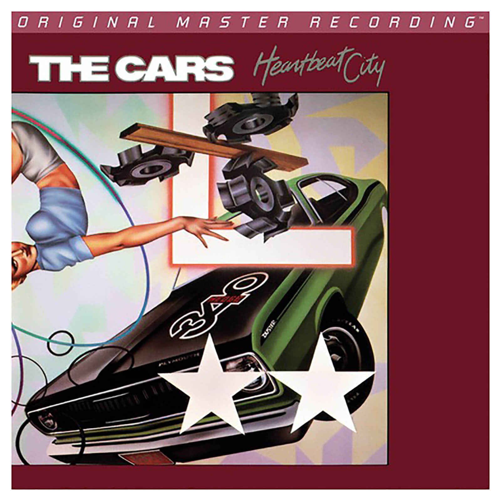 Cars - Heartbeat City - Vinyl