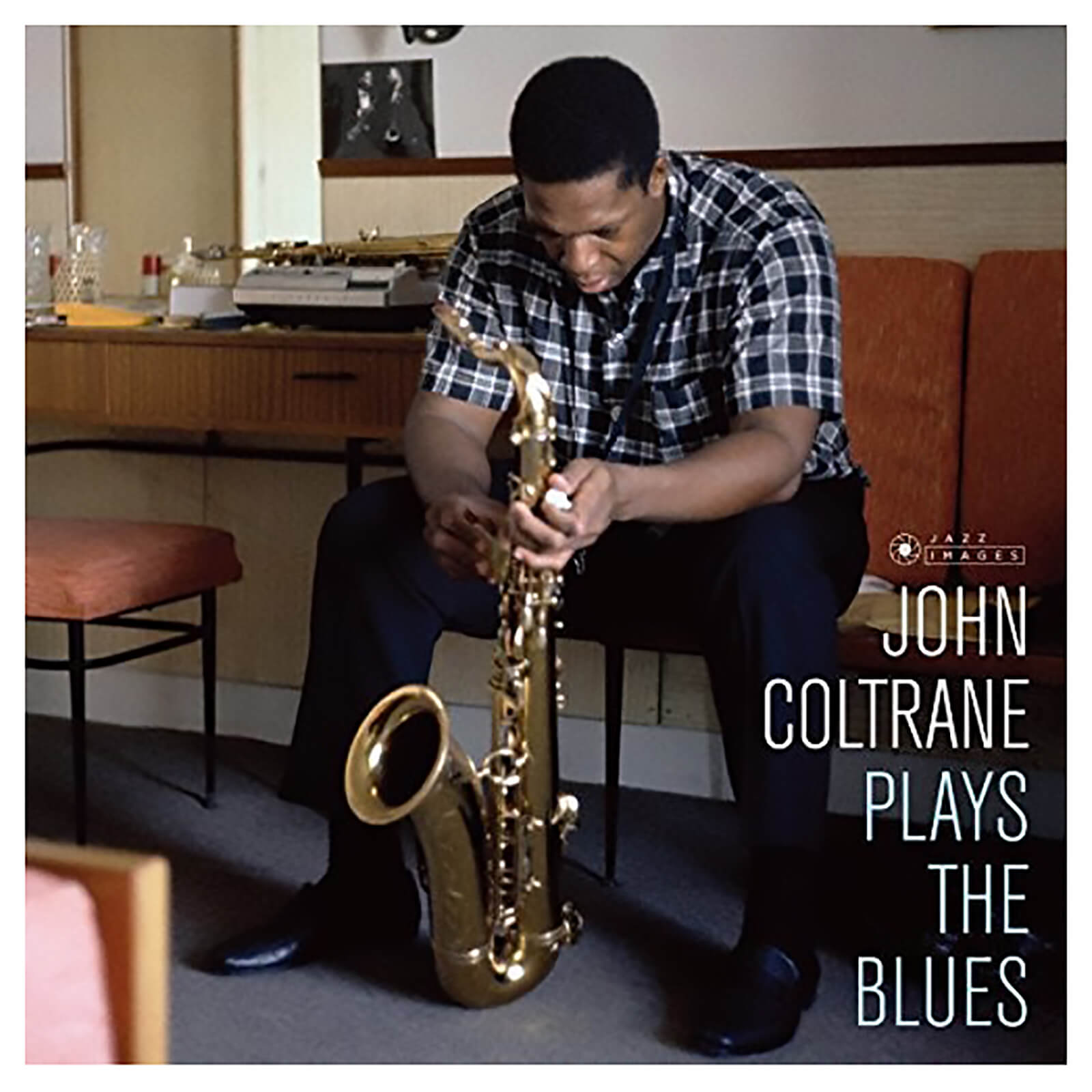 John Coltrane - Plays The Blues (Cover Photo Jean-Pierre Leloir) - Vinyl