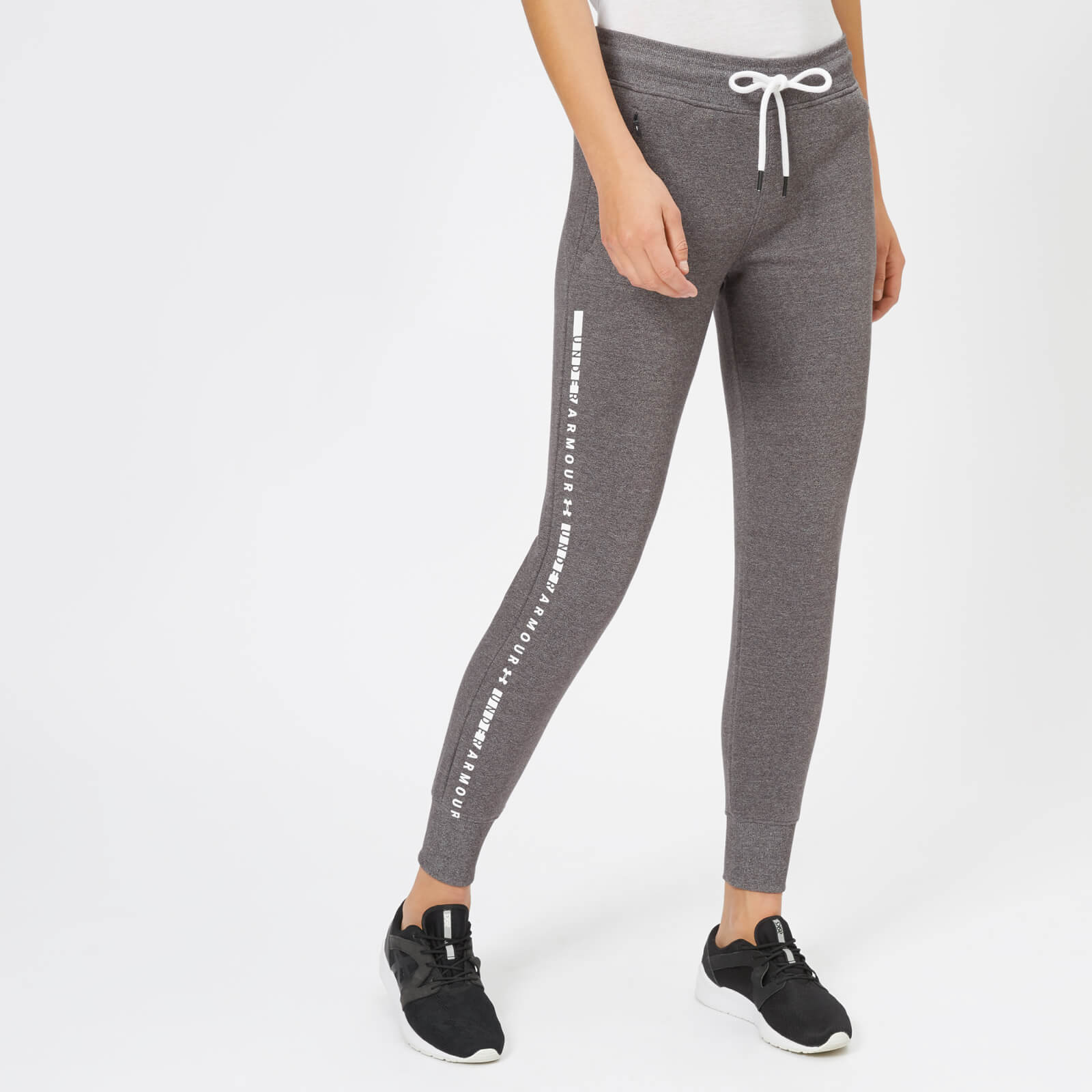aa94788f Under Armour Women's Ottoman Fleece Pants - Charcoal Light Heather Sports &  Leisure | TheHut.com