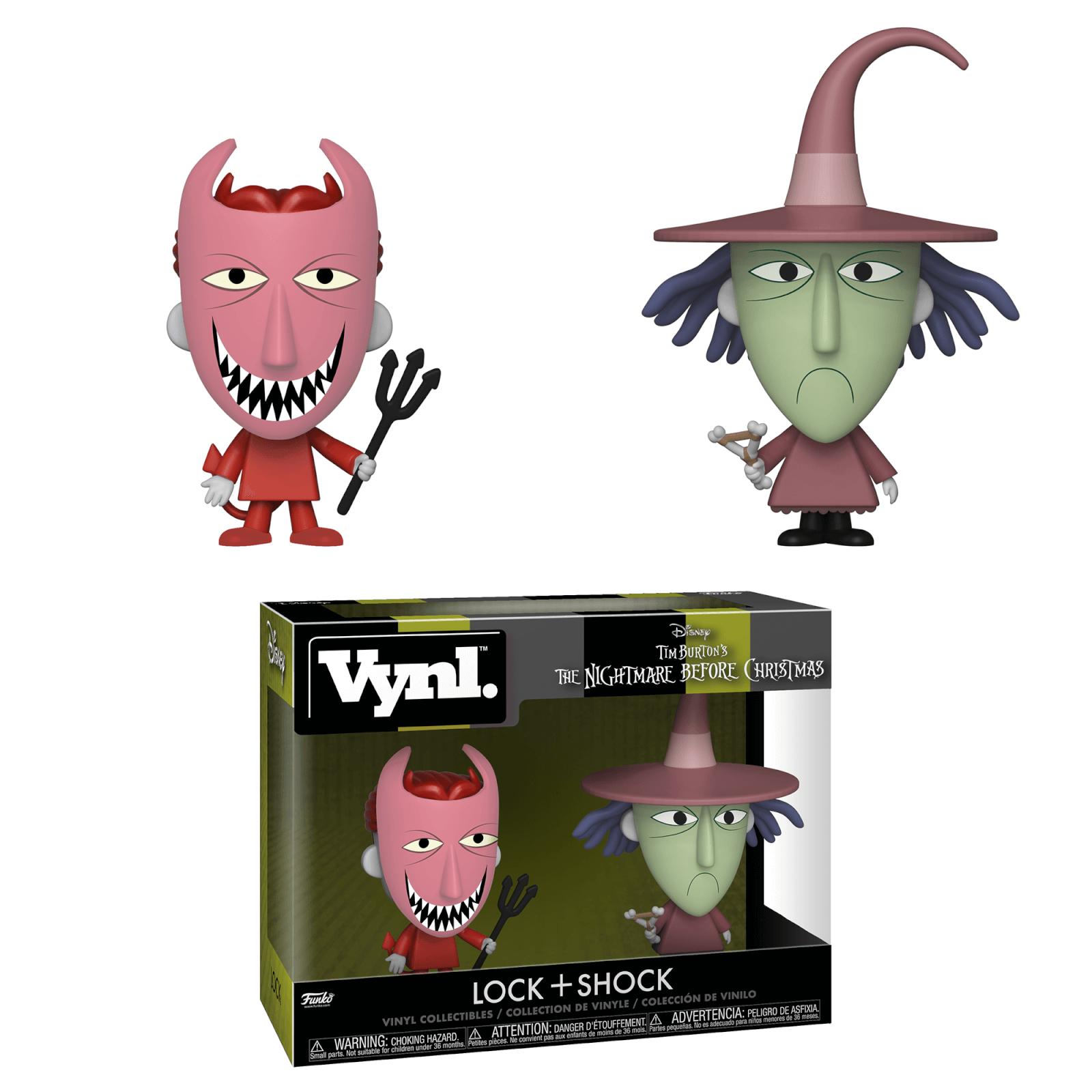 Nightmare Before Christmas Lock and Shock Vynl. | My Geek Box US