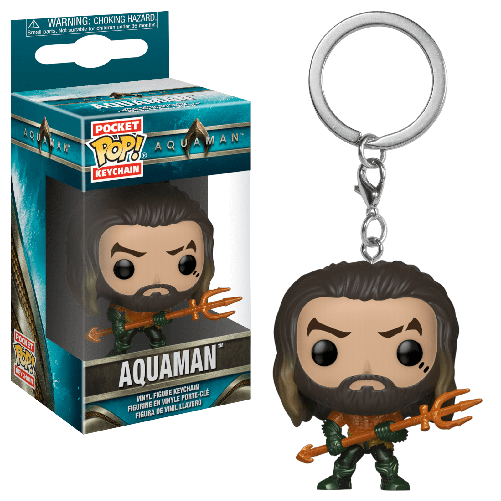 DC Aquaman Pop! Keychain