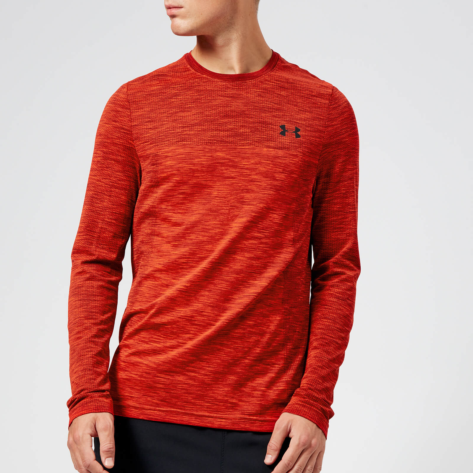 8f8564a97bb24 Under Armour Men s Vanish Seamless Long Sleeve Top - Radio Red Sports    Leisure