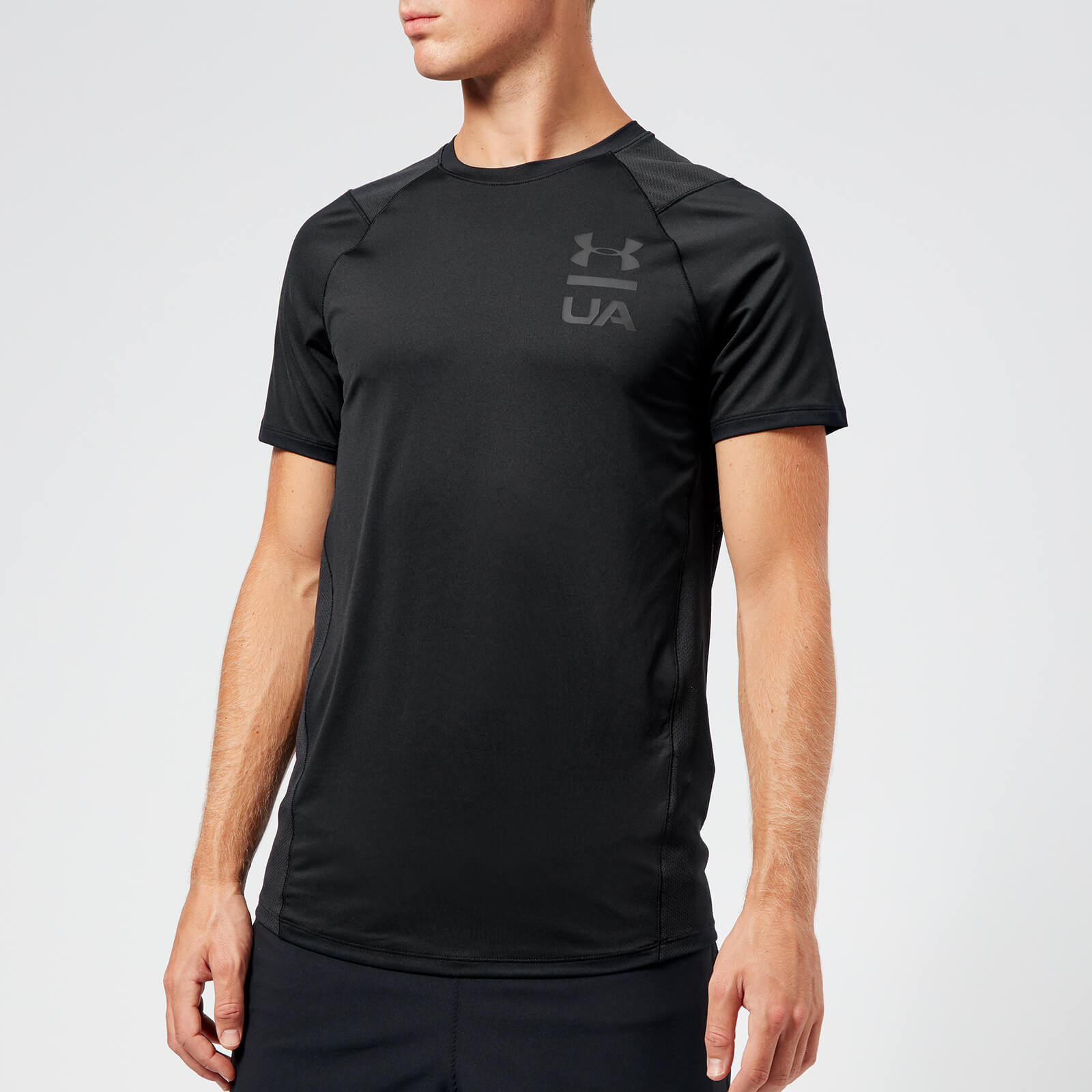 8c7c806a8 Under Armour Men's MK1 Logo Graphic Short Sleeve T-Shirt - Black Sports &  Leisure | TheHut.com