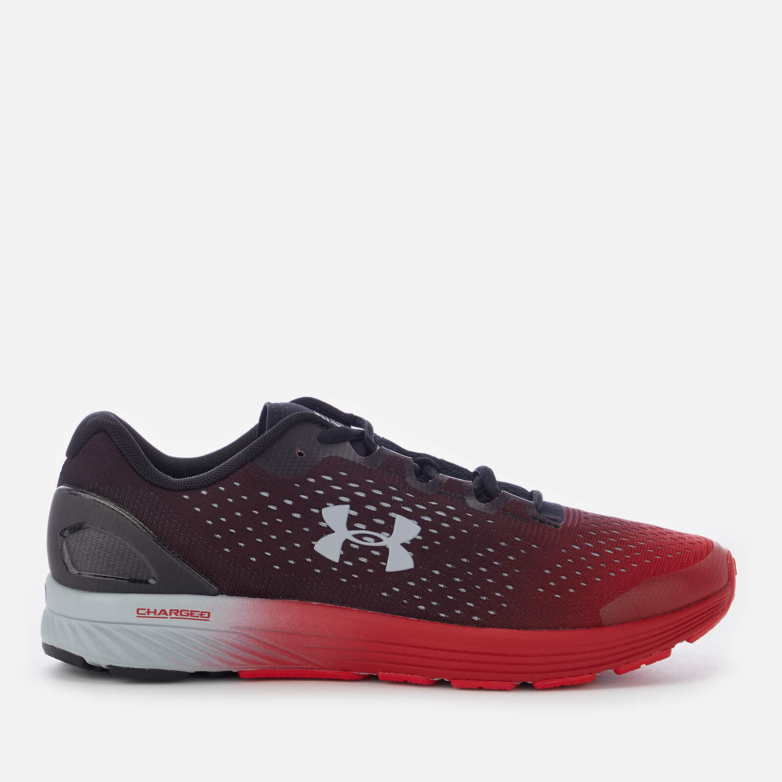 9af2acd64c Under Armour Men's Charged Bandit 4 Trainers - Black.Red Sports ...