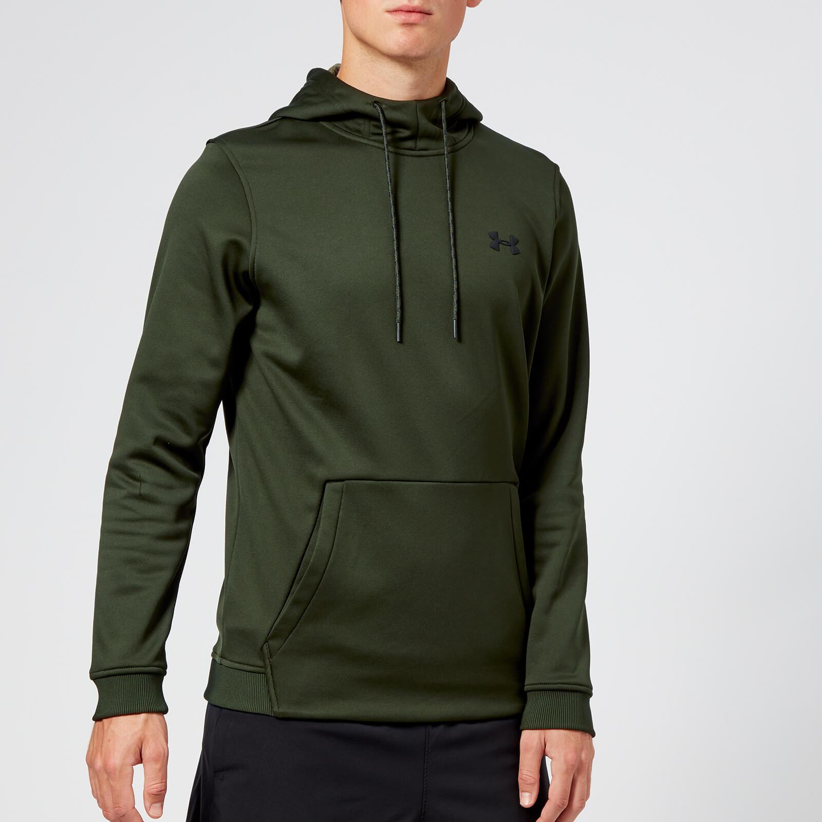 under armour green hoodie