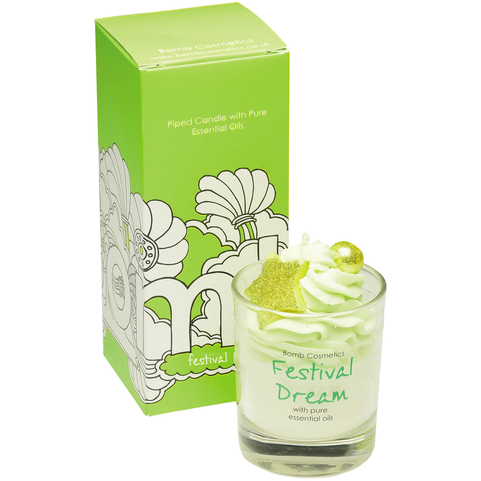 Bomb Cosmetics Festival Dream Piped Candle