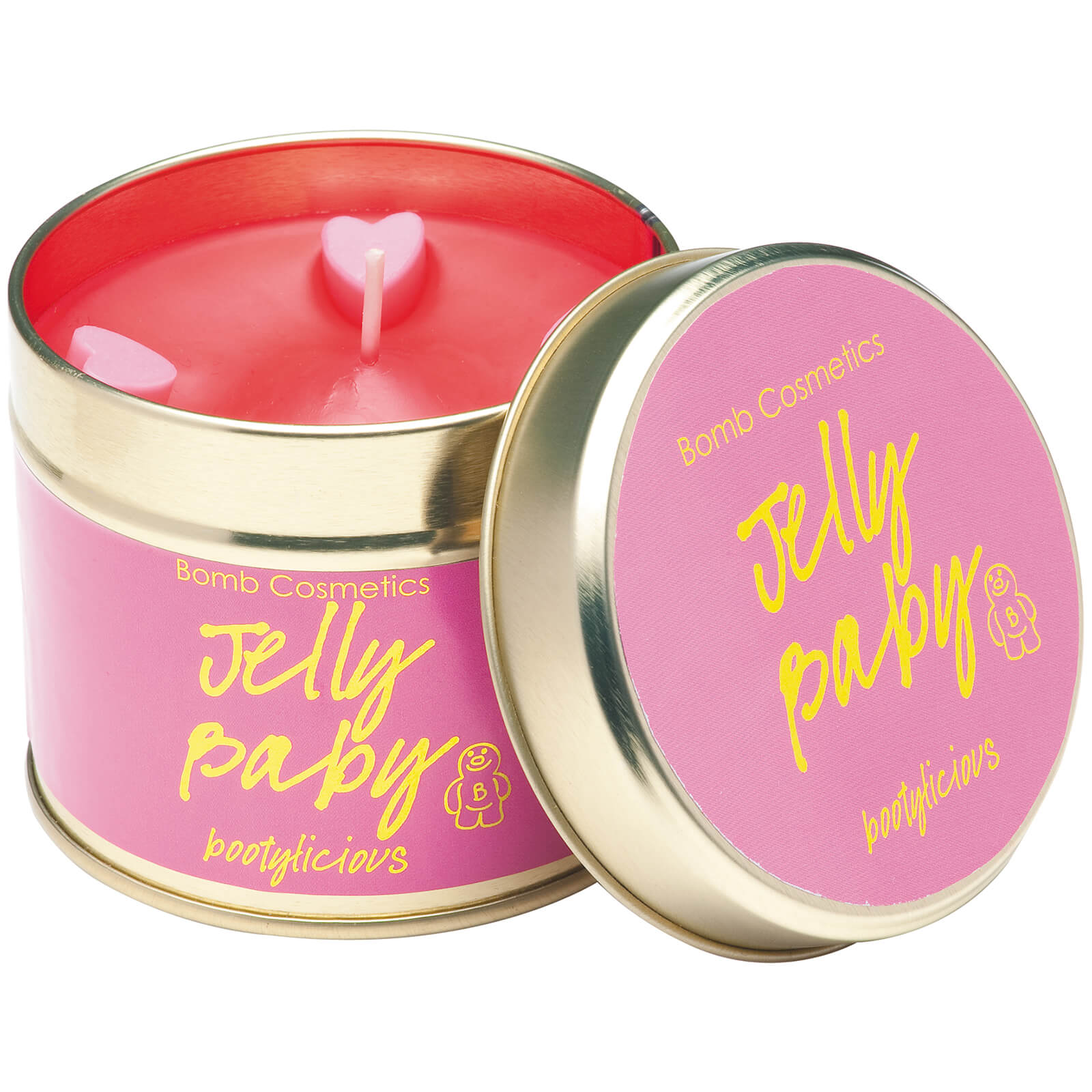 Bomb Cosmetics Jelly Baby Tinned Candle