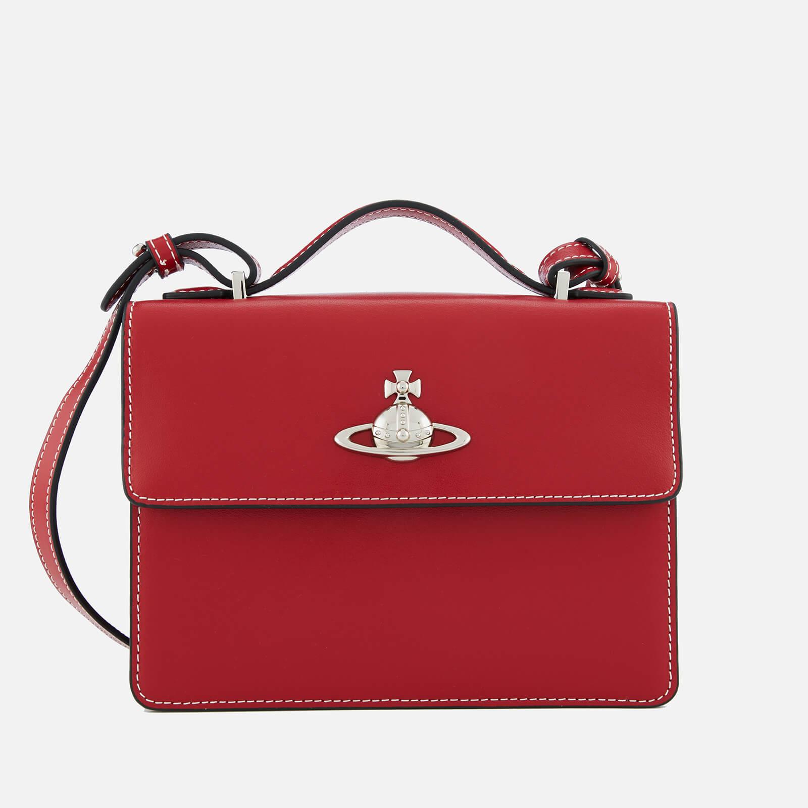 b1e5bd342e0 Vivienne Westwood Women's Matilda Medium Shoulder Bag - Red - Free UK  Delivery over £50