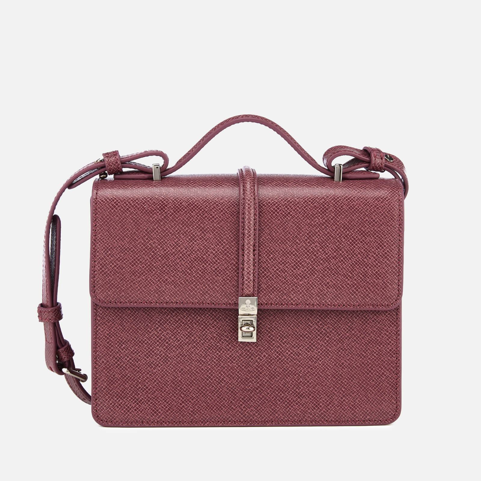 Vivienne Westwood Women s Sofia Medium Shoulder Bag - Pink - Free UK ... 5201d1d7cf92b