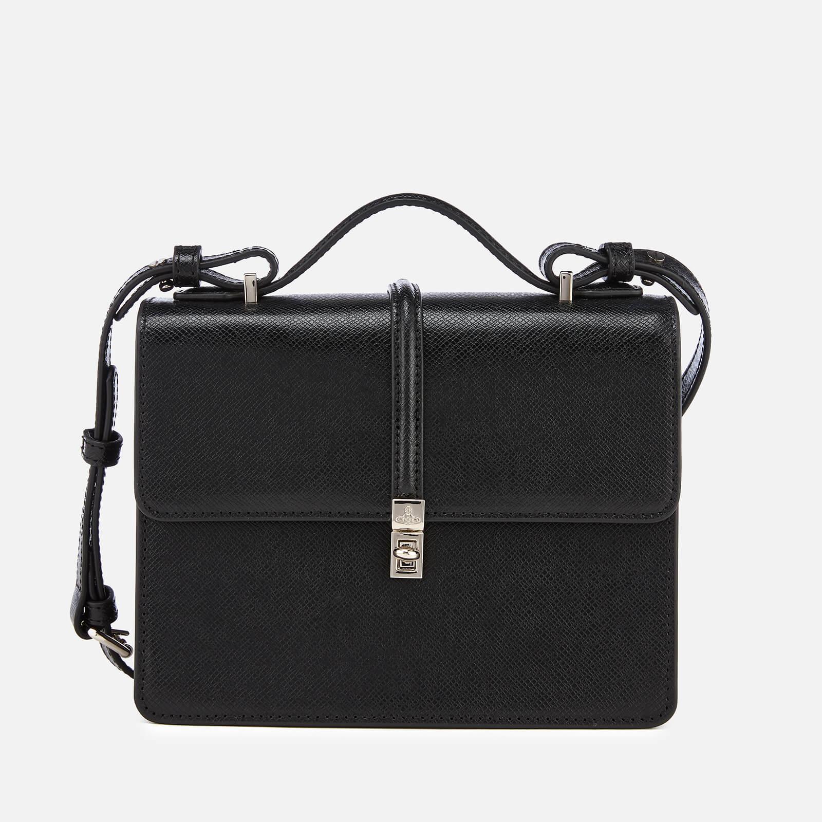 Vivienne Westwood Women s Sofia Medium Shoulder Bag - Black - Free UK  Delivery over £50 02847e12a60ba