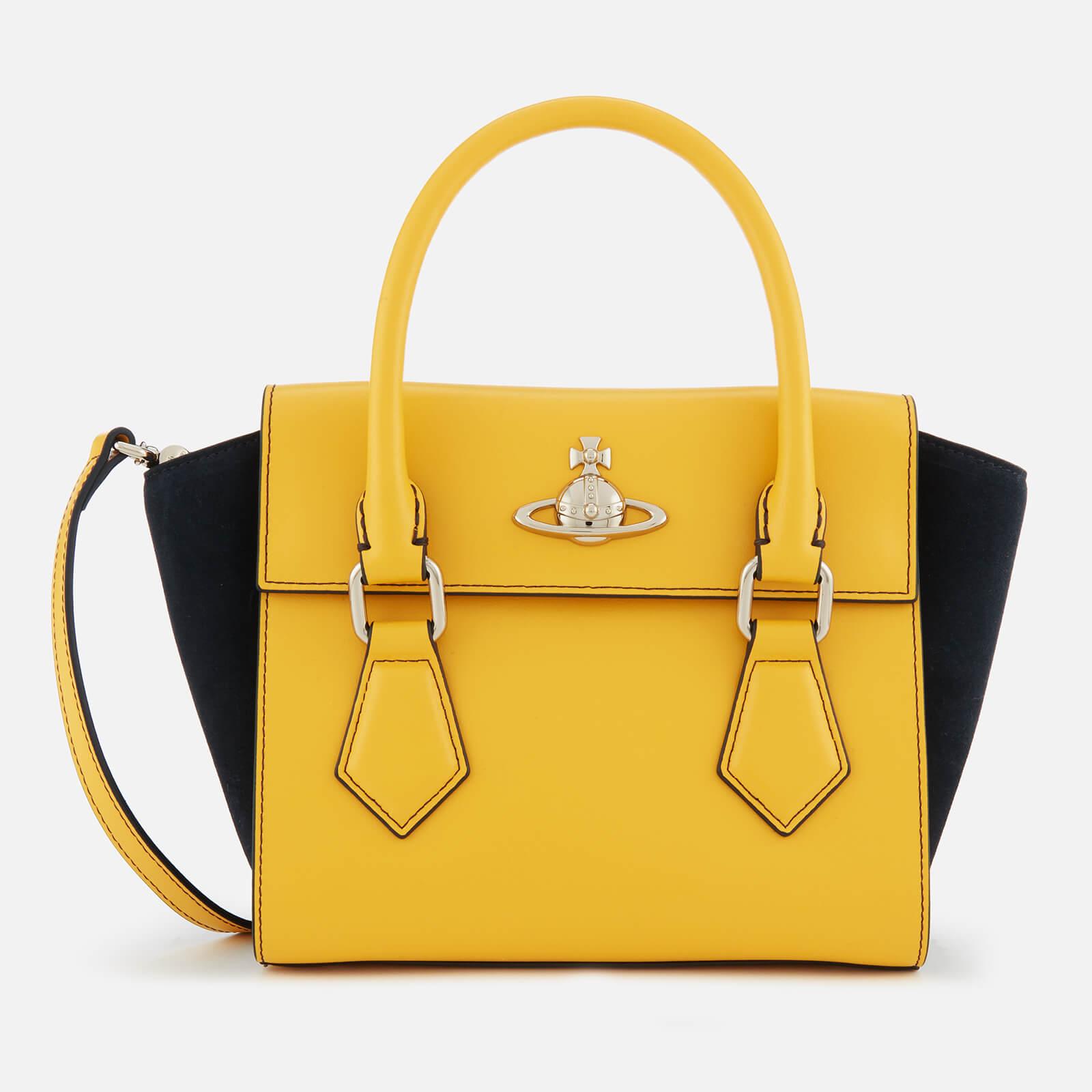 b0dea07a5f8e Vivienne Westwood Women's Matilda Small Handbag - Yellow - Free UK Delivery  over £50