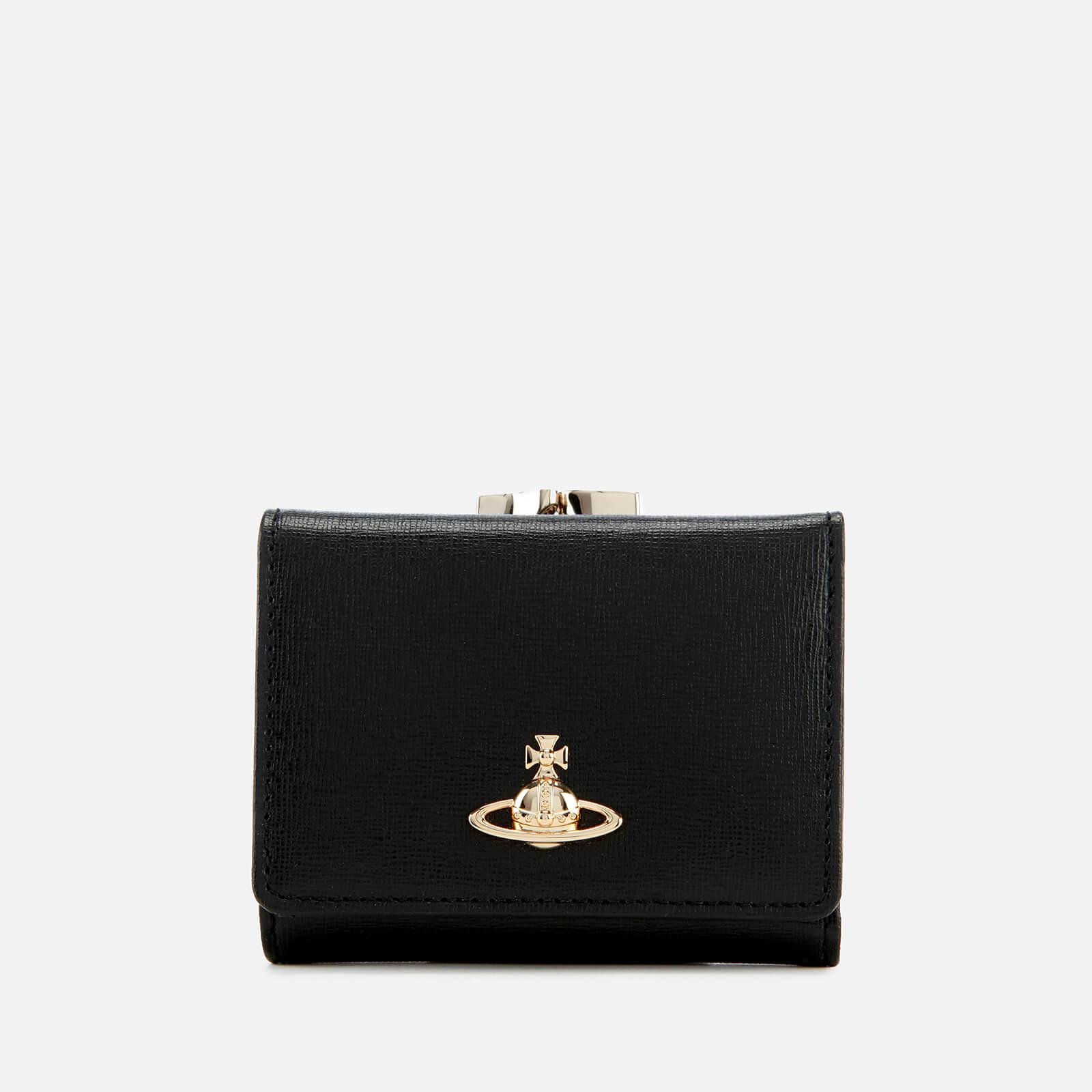 4ee3c551de89 Vivienne Westwood Women's Victoria Small Frame Wallet - Black