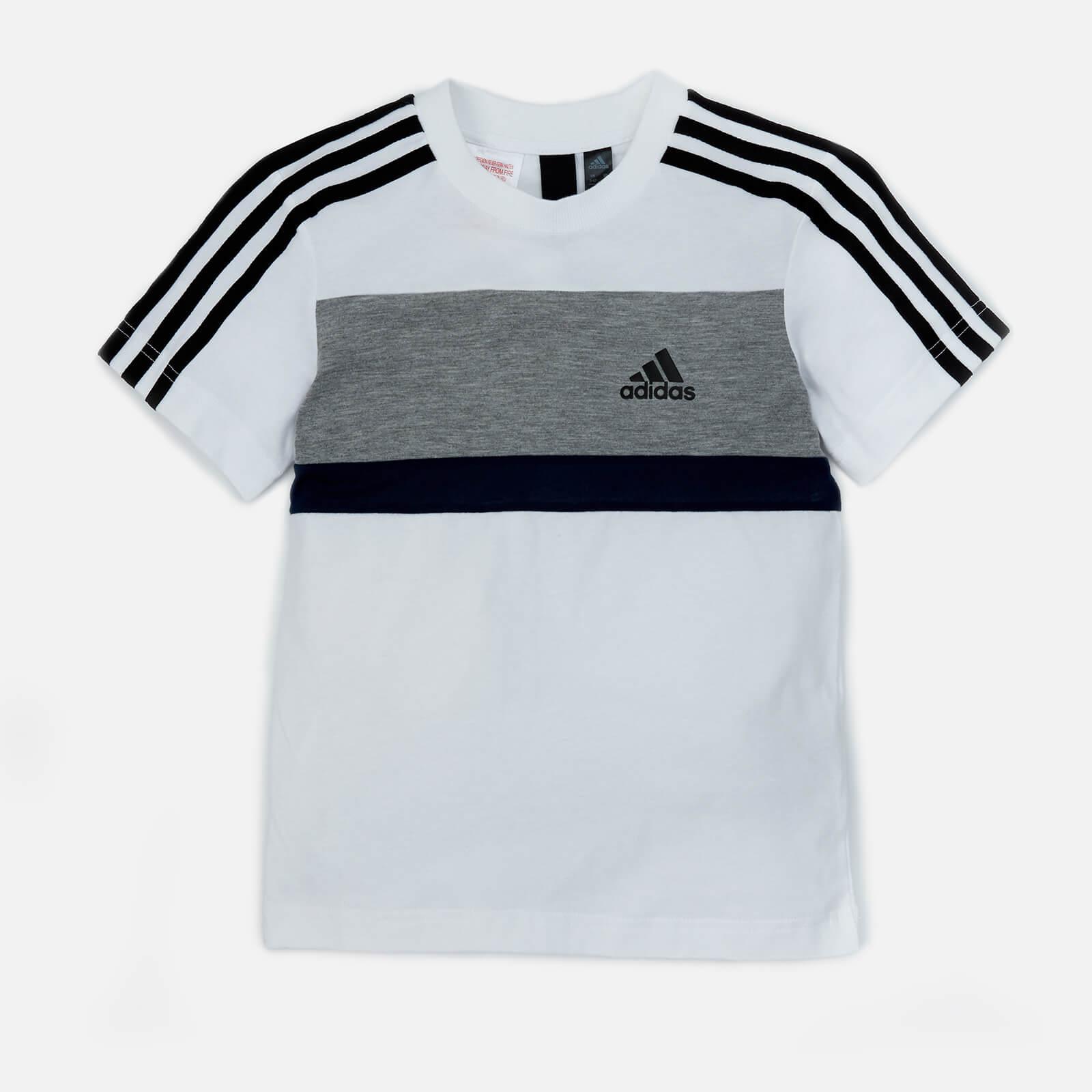 White Adidas Sid Short Shirt Sleeve Boys T FKcTJ3l1