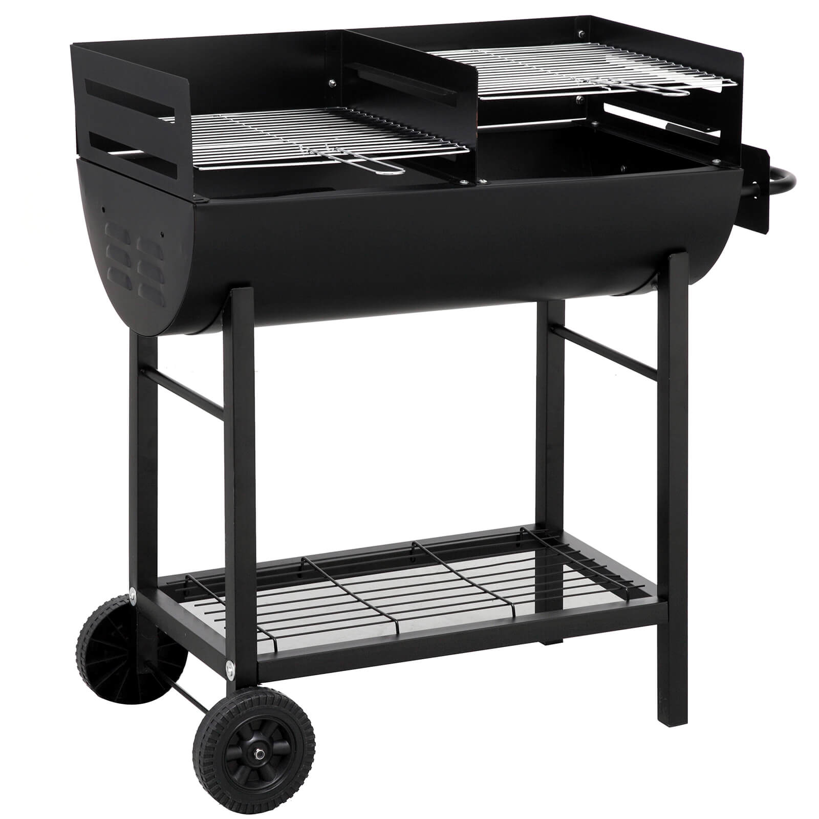 Tepro Detroit Barrel BBQ - Black