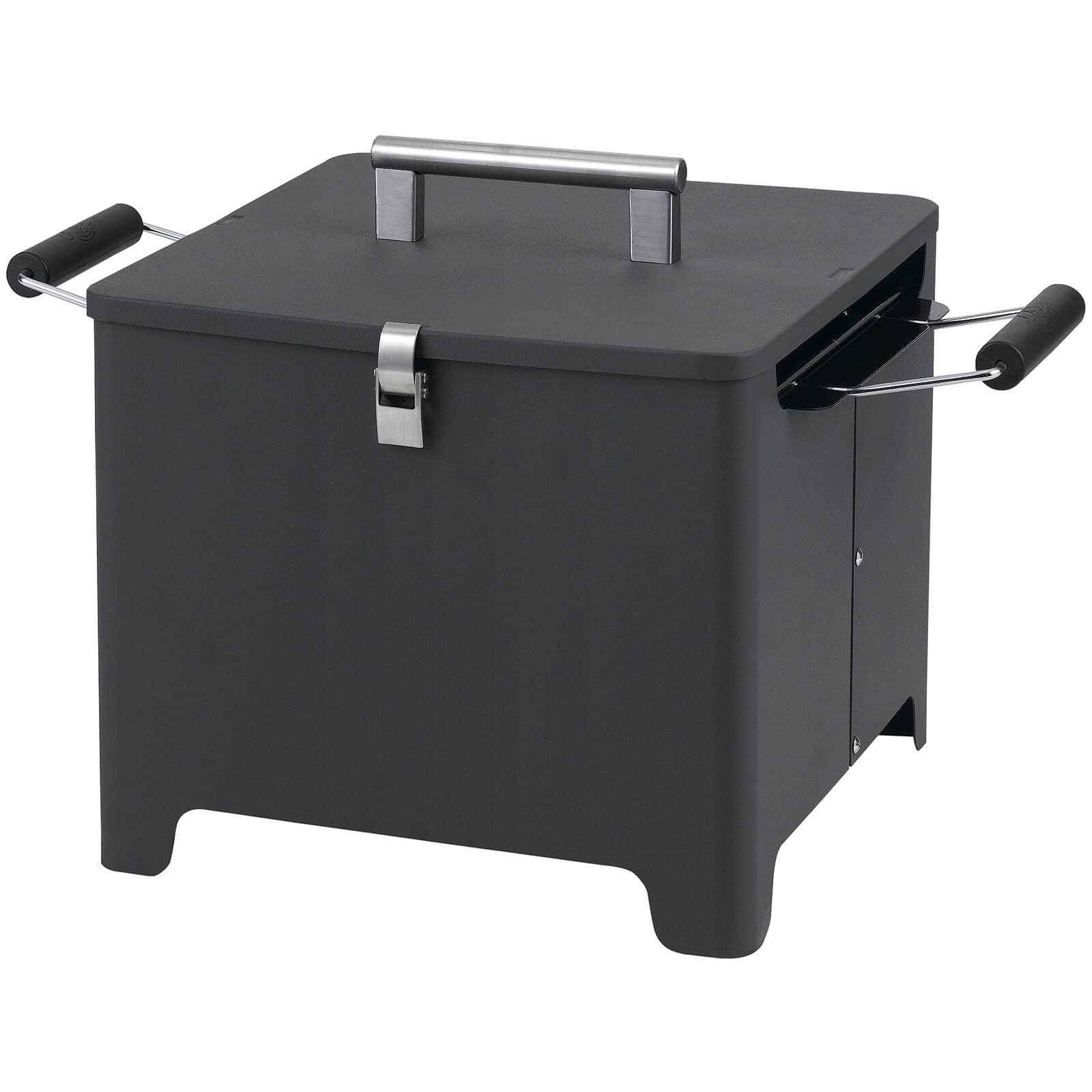 Tepro Chill&Grill Charcoal BBQ Cube - Anthracite