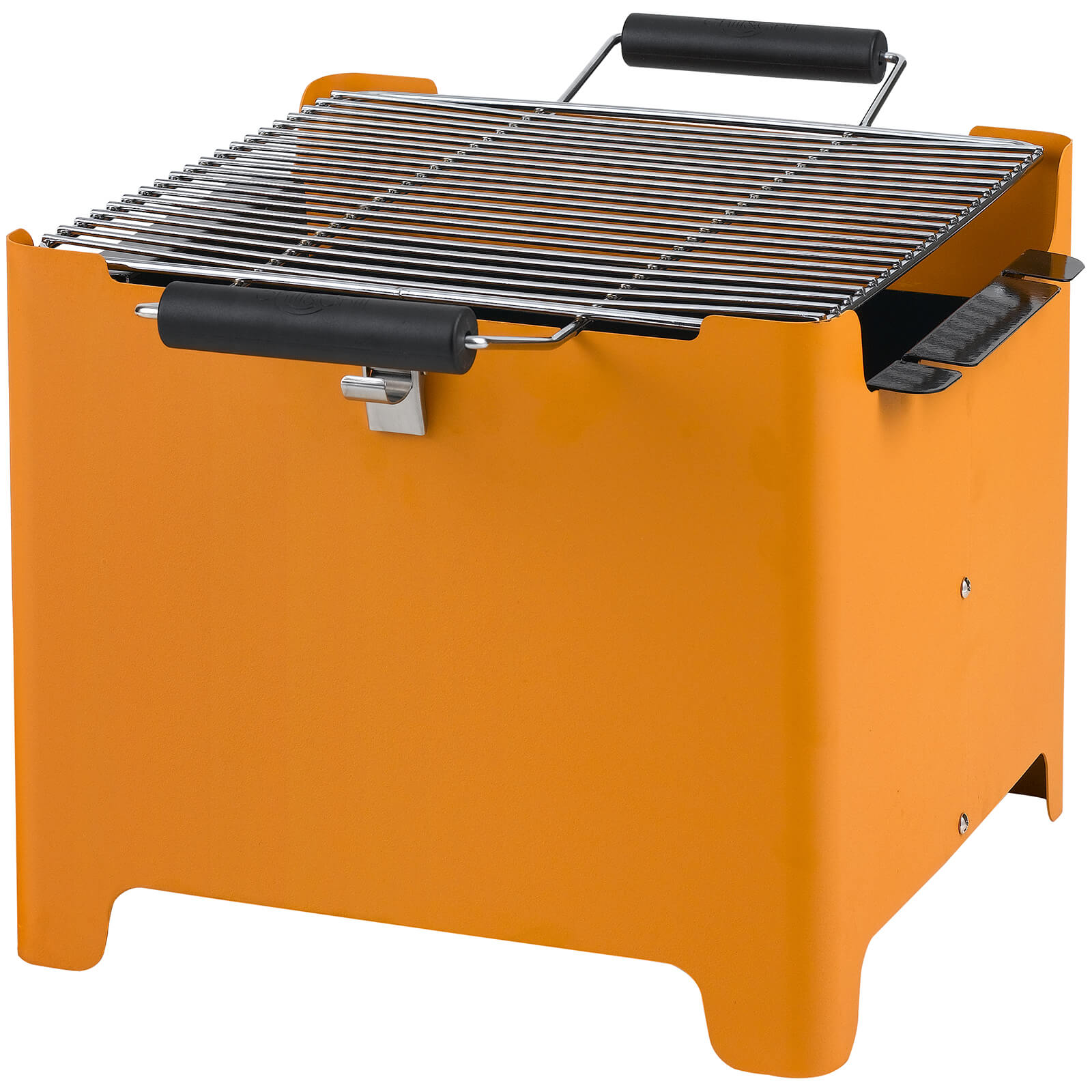 new concept on feet at cheap sale Tepro Chill&Grill Charcoal BBQ Cube - Orange