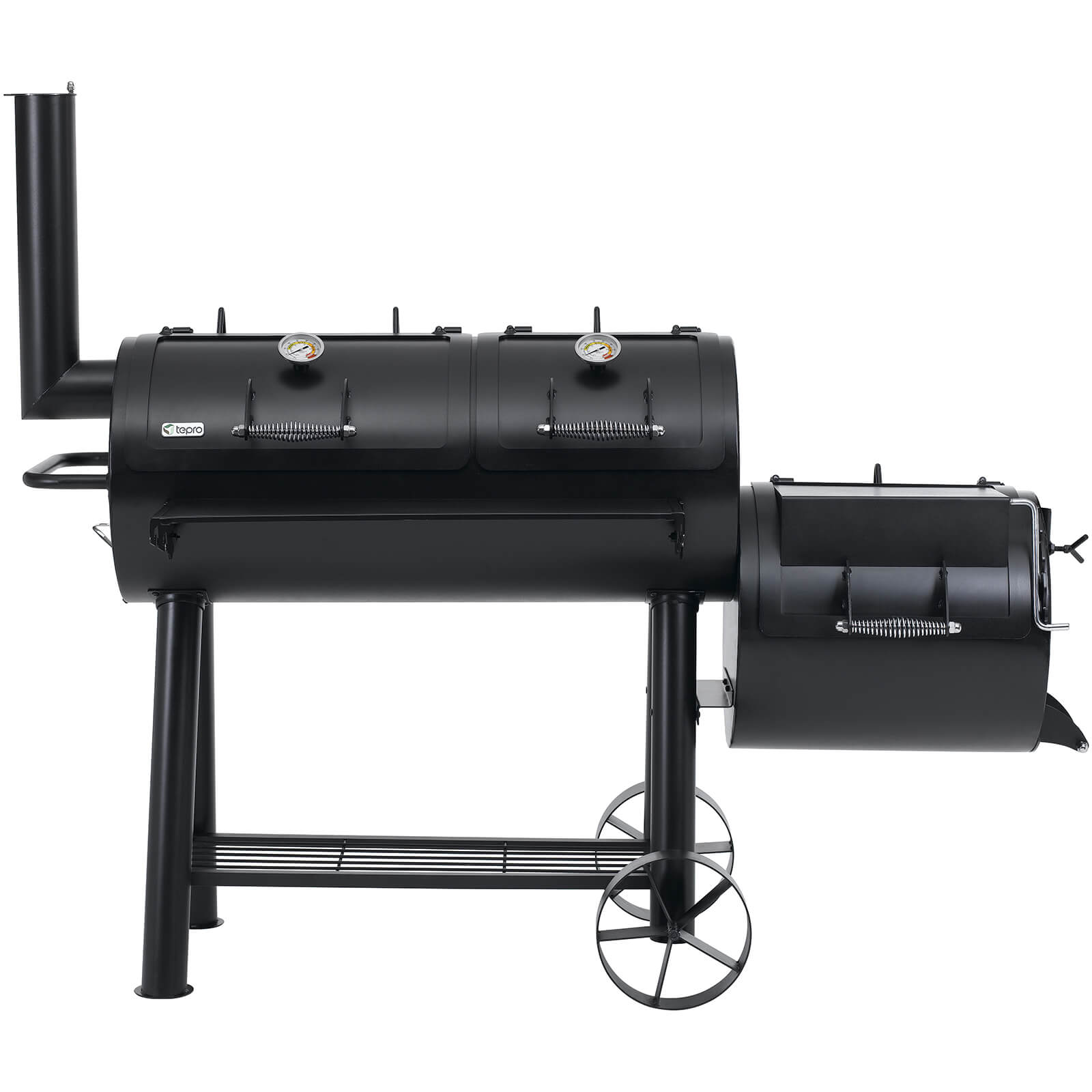 Tepro Heavy Duty Indianapolis Smoker - Black