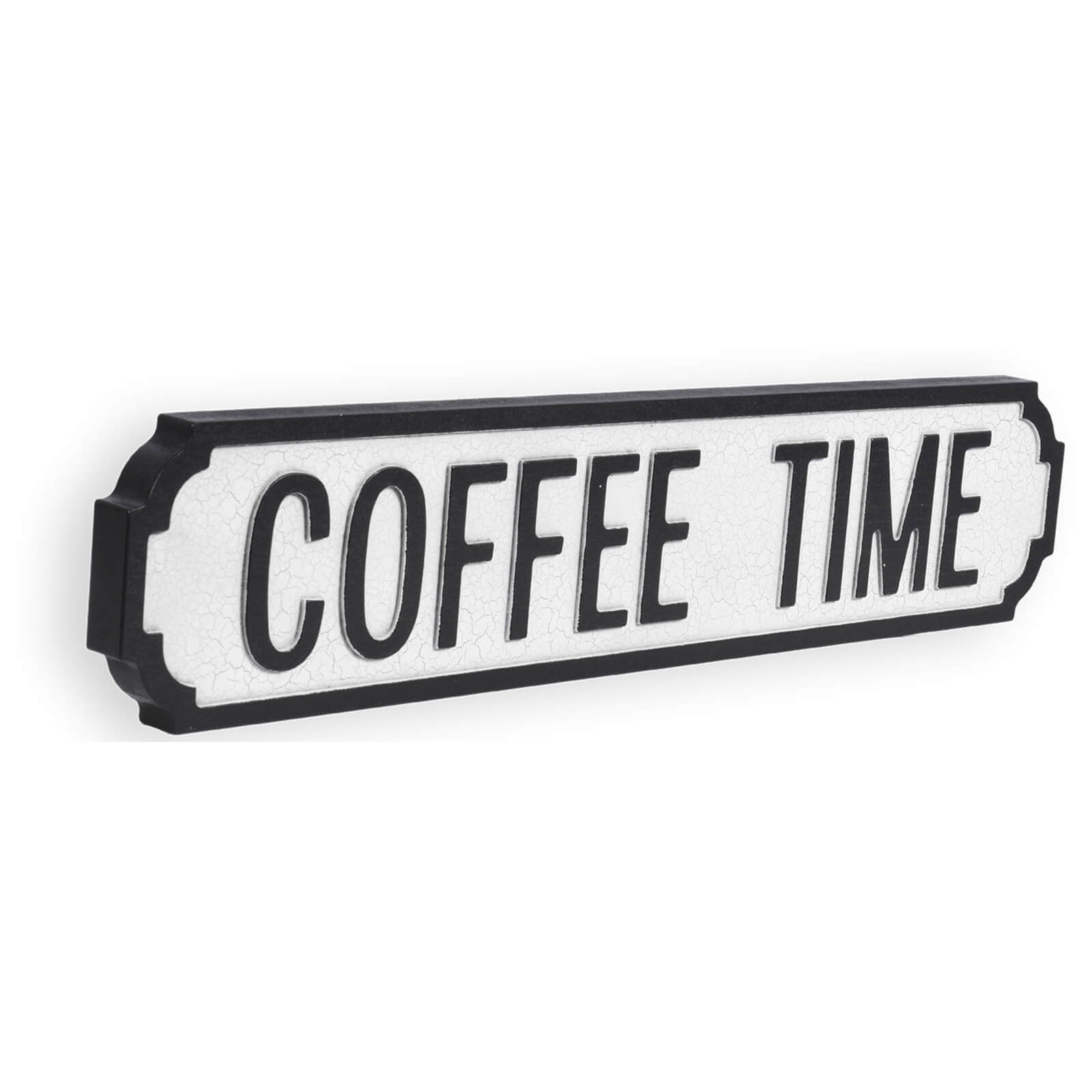 Shh Interiors Coffee Time Vintage Street Sign
