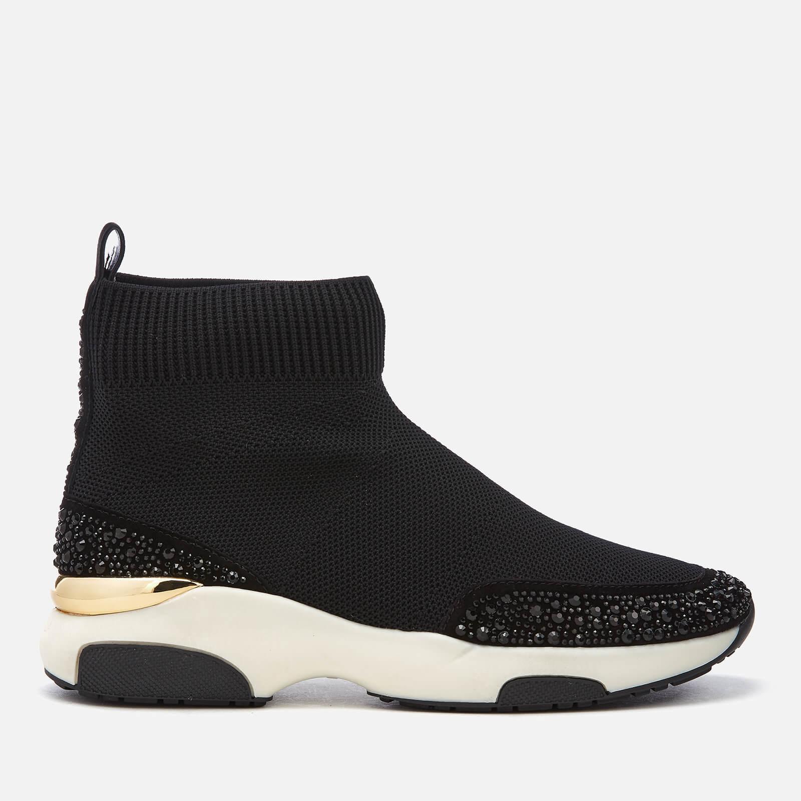 0c23475dafc Carvela Women s Link Sock Trainers - Black Womens Footwear