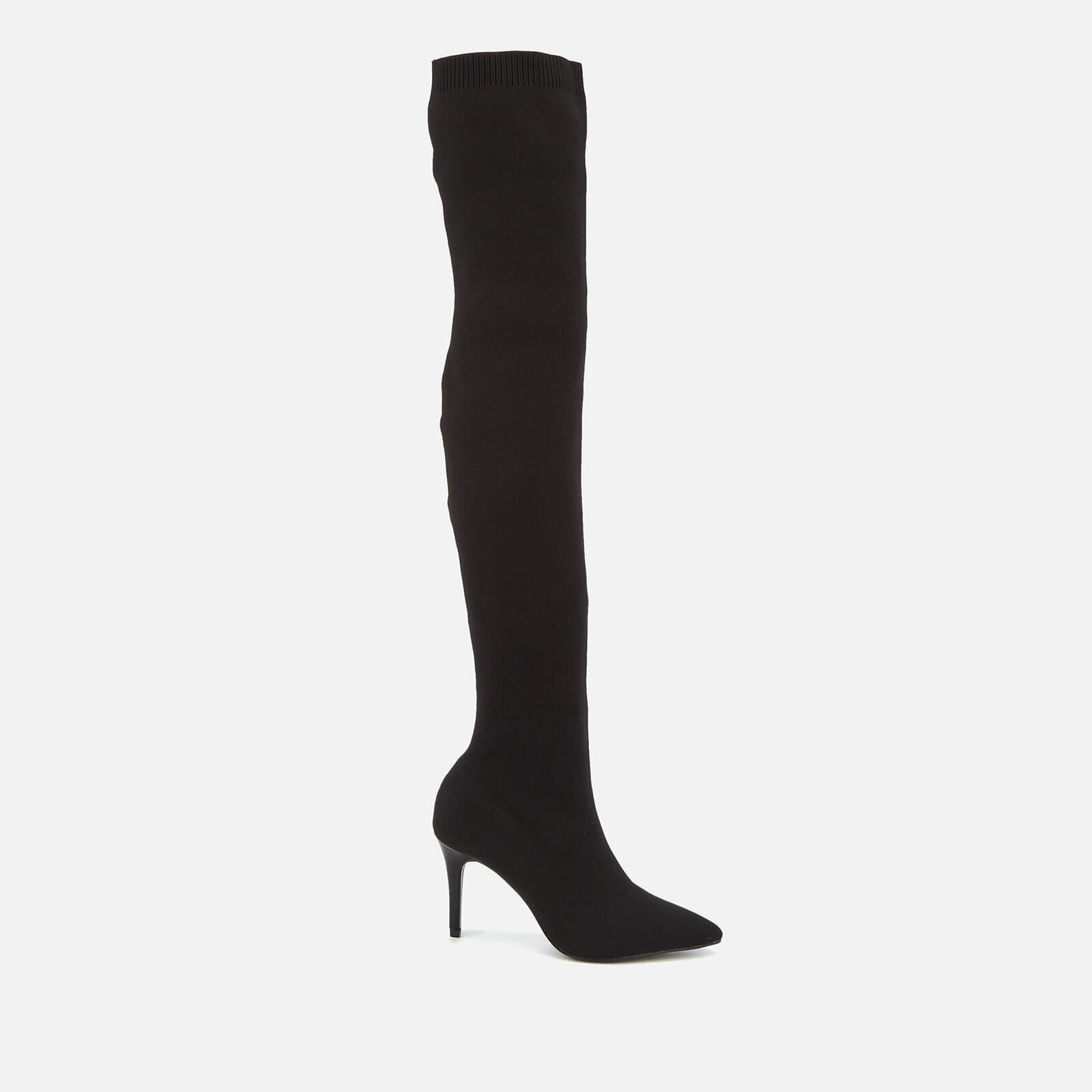 f6da8764a Carvela Women's Gasp Stretch Thigh High Heeled Boots - Black | FREE UK  Delivery | Allsole