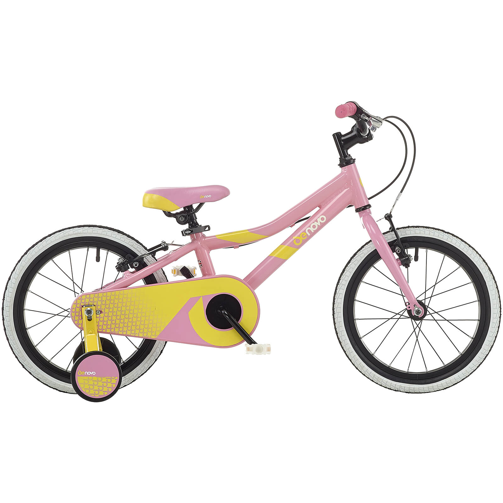"16"" Denovo Plus Girls Lightweight Alloy Bike"