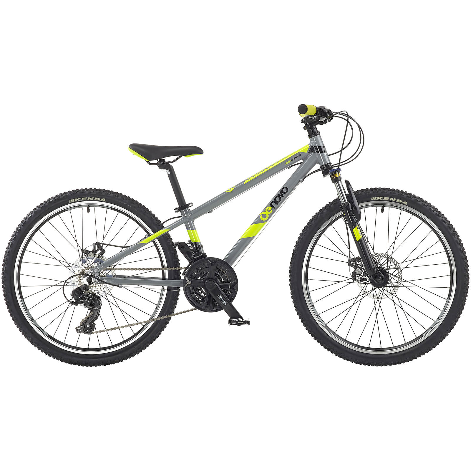 "Denovo Boys Alloy Bike - 24"" Wheel"