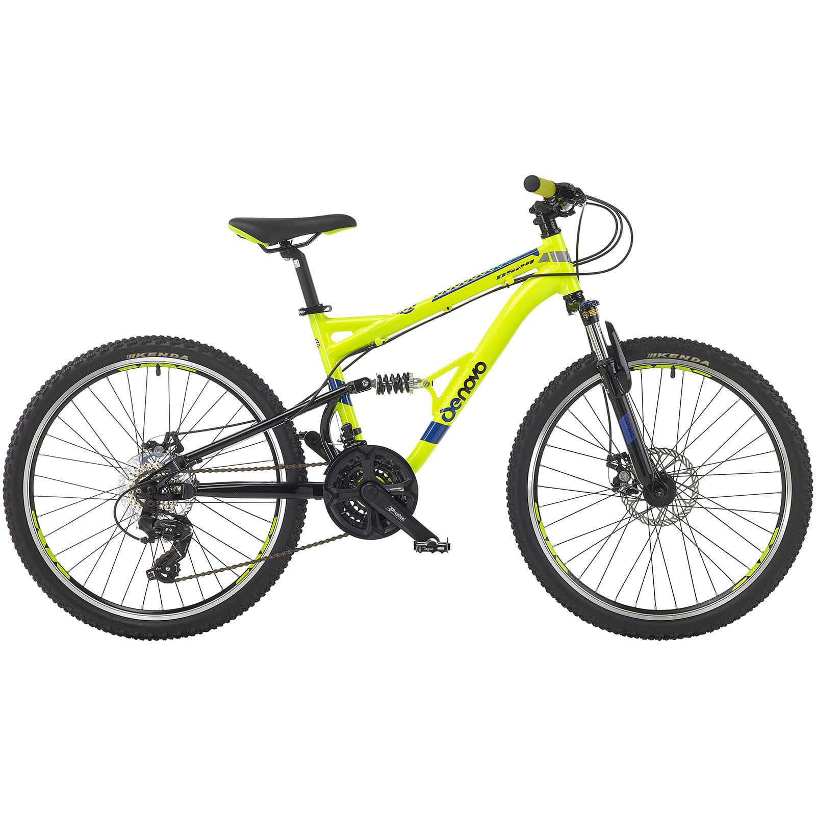 "24"" Denovo Plus 21S DS Boys Lightweight Alloy Bike"