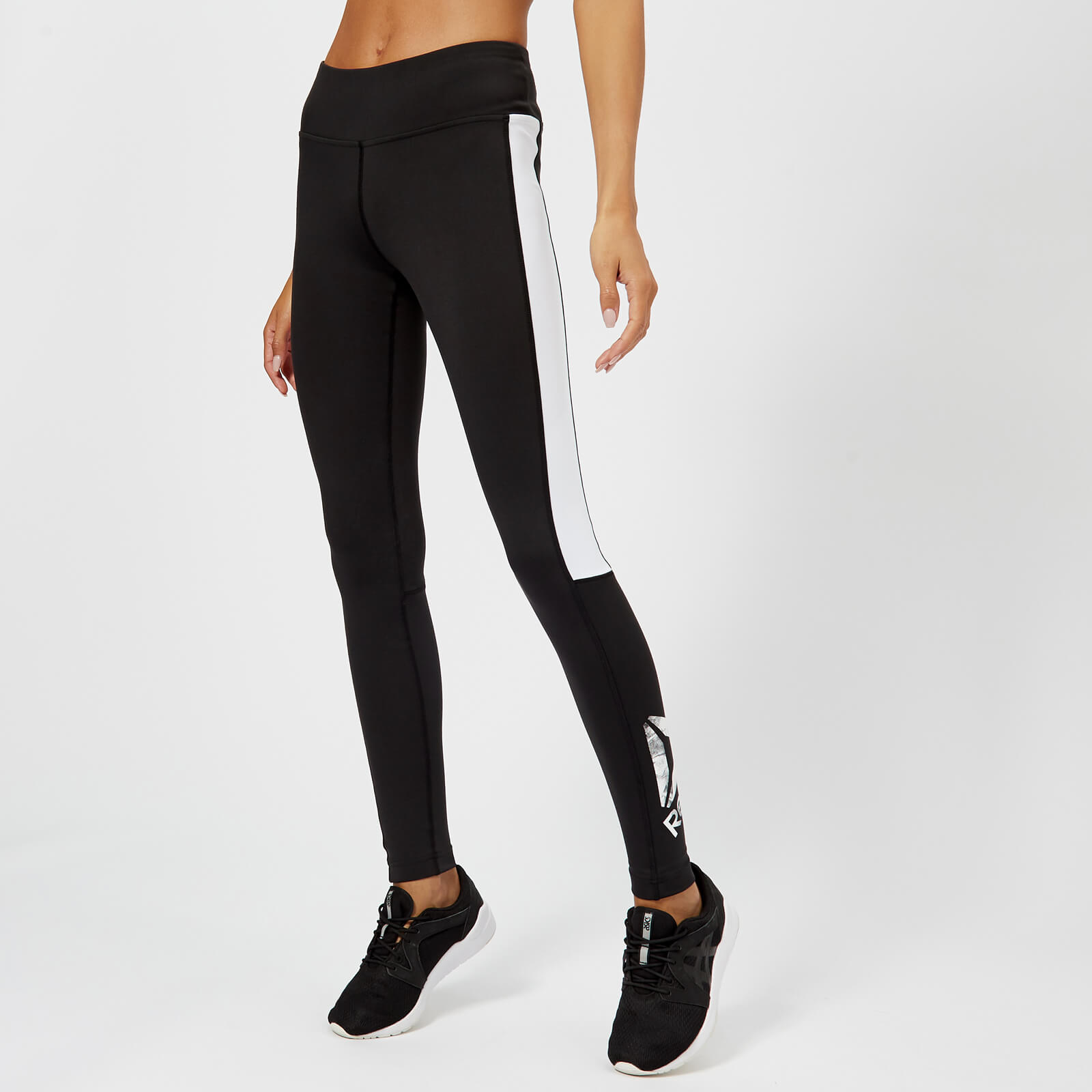54827db266b Reebok Women's Big Delta Tights - Black Sports & Leisure | TheHut.com