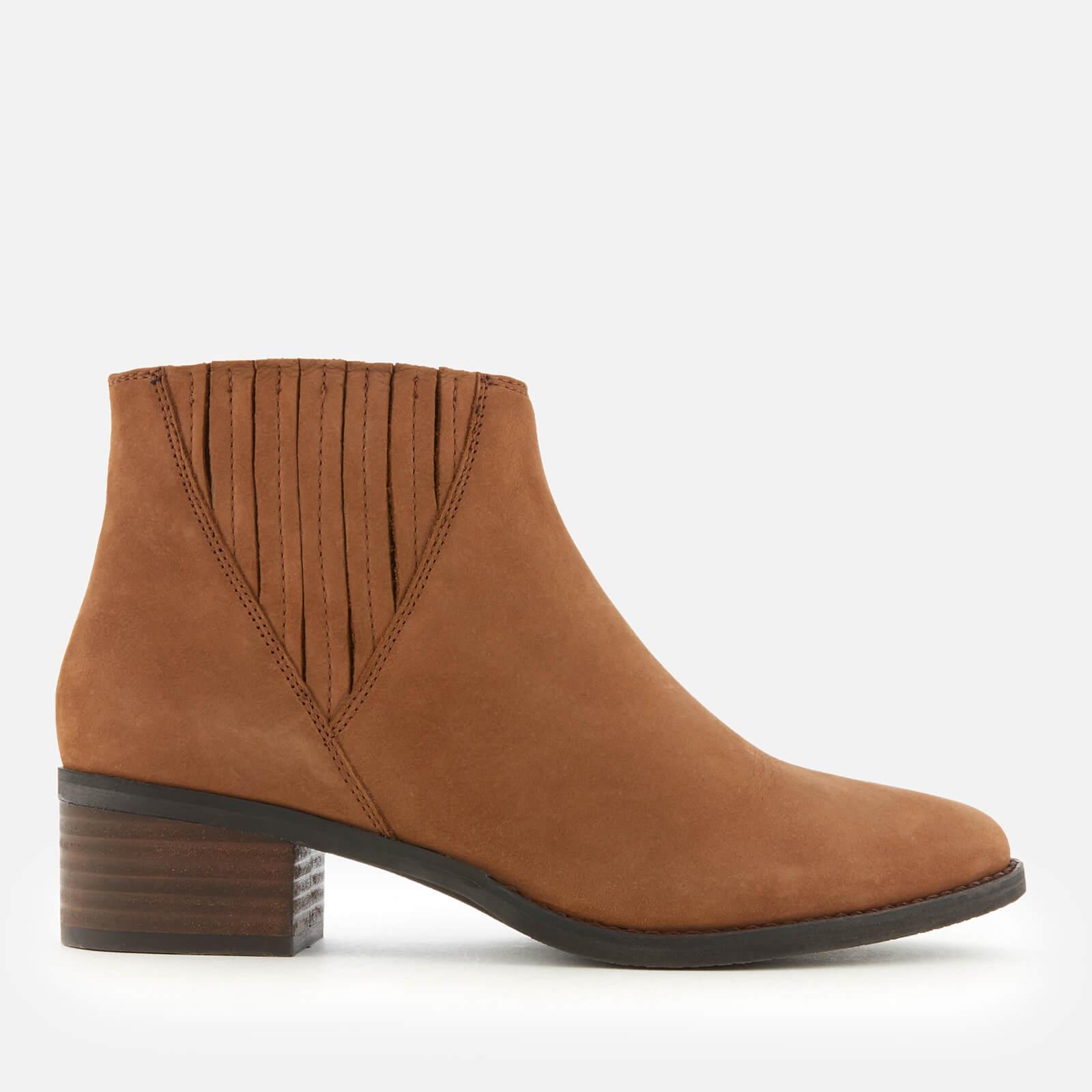 2c4b9256b5b Steve Madden Women s Always Nubuck Western Ankle Boots - Camel ...