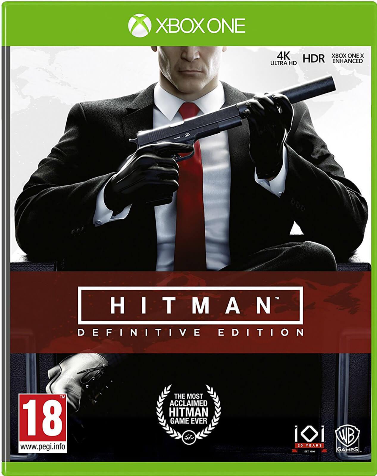 hitman definitive edition xbox one