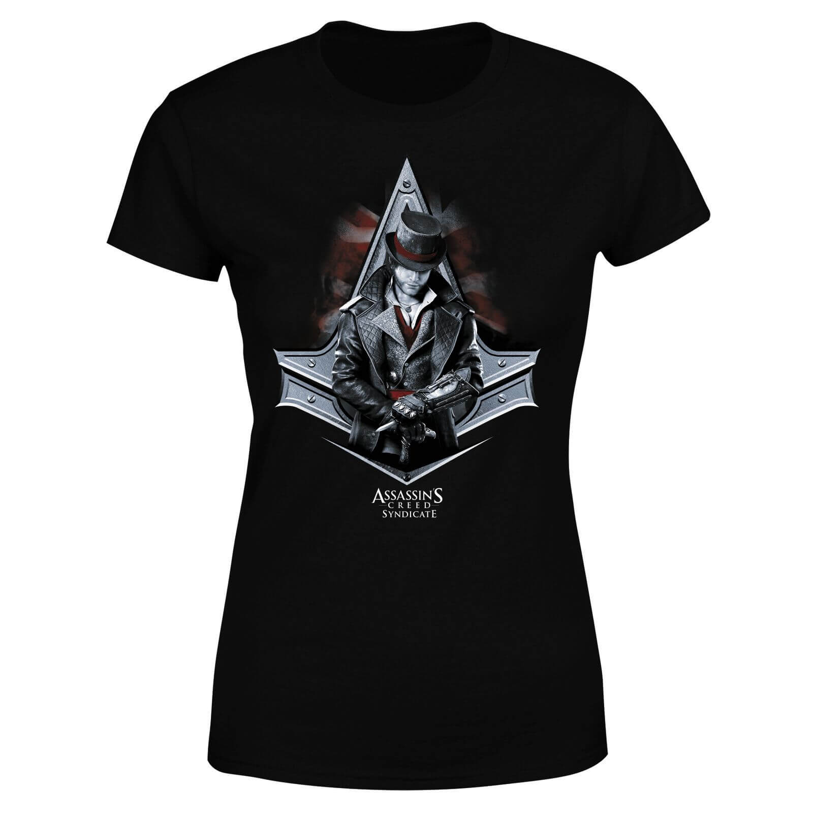 a082e92522 Assassin's Creed Syndicate Jacob Damen T-Shirt - Schwarz | SOWIA