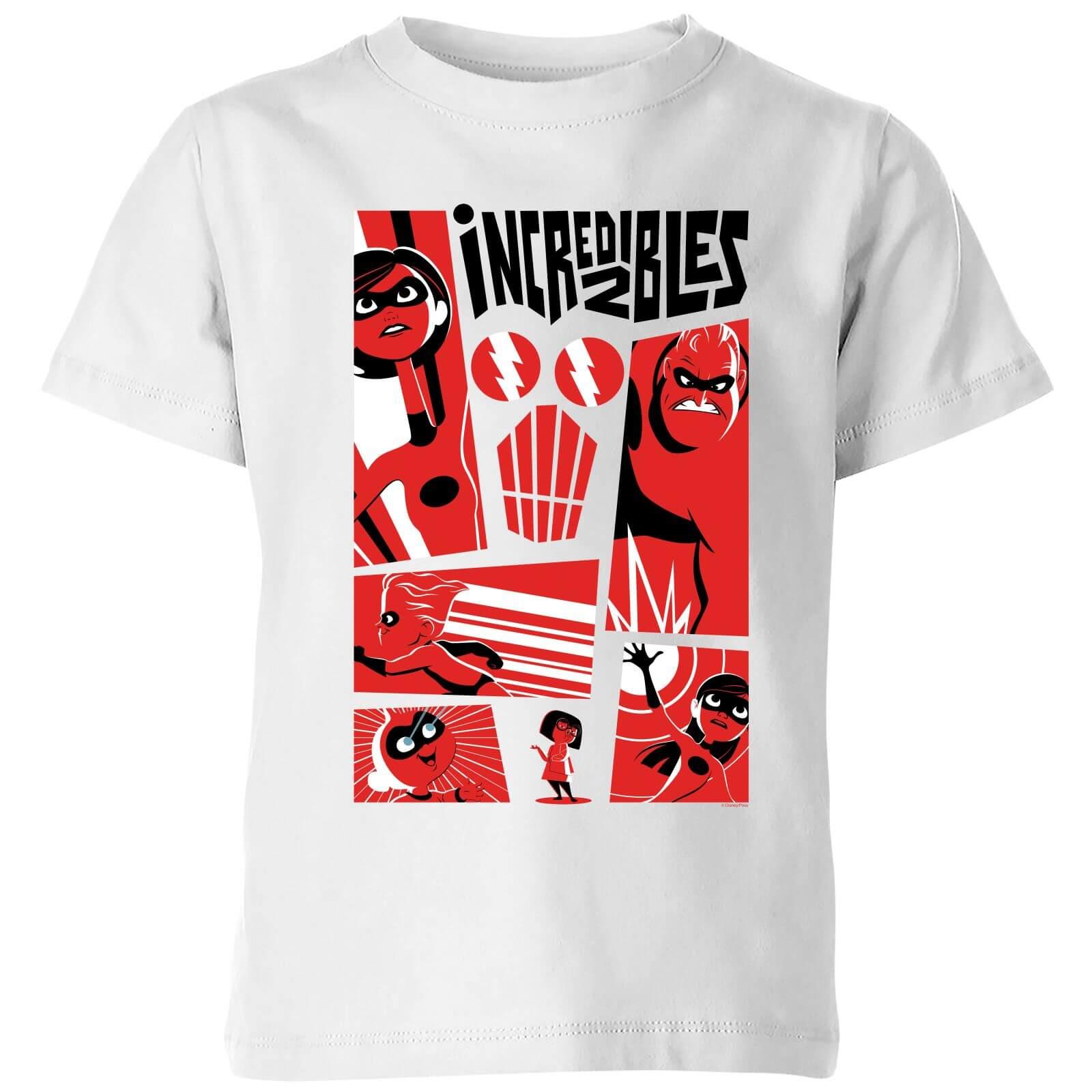 d6e31770df30 ... the incredibles 2 poster kids t shirt white iwoot; com disney ...