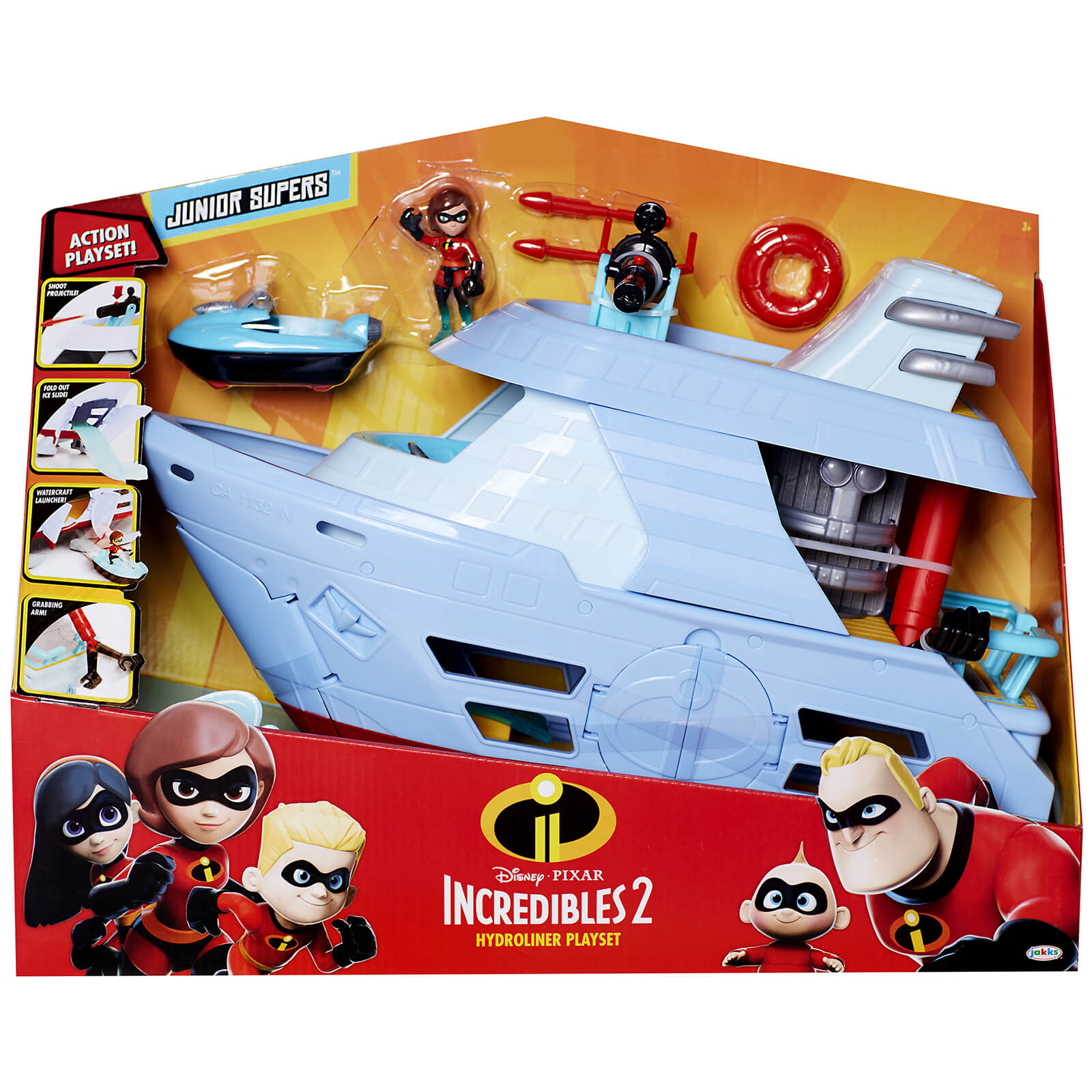 Jakks Pacific Disney Incredibles 2 Playset