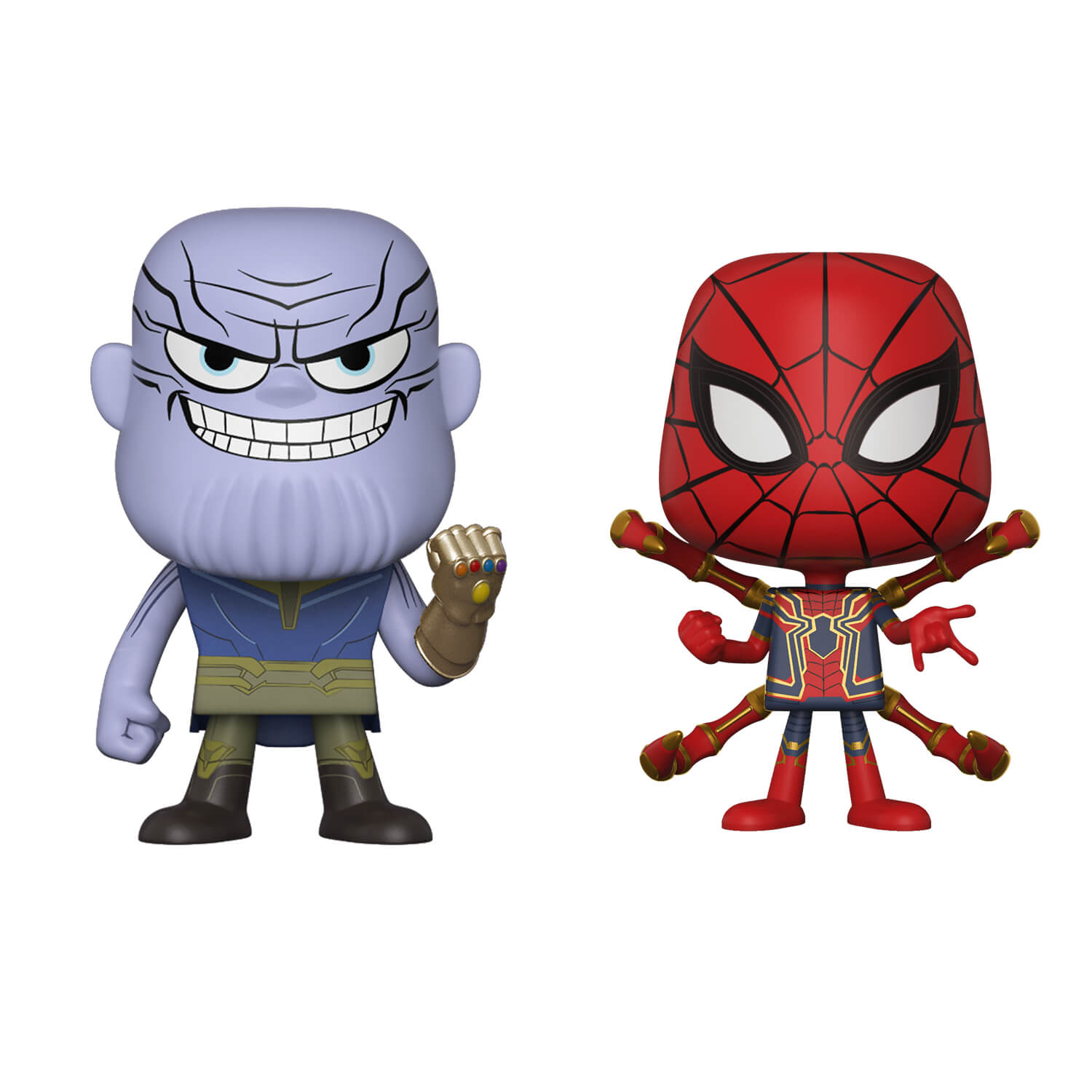 Marvel Thanos and Iron Spider Vynl.