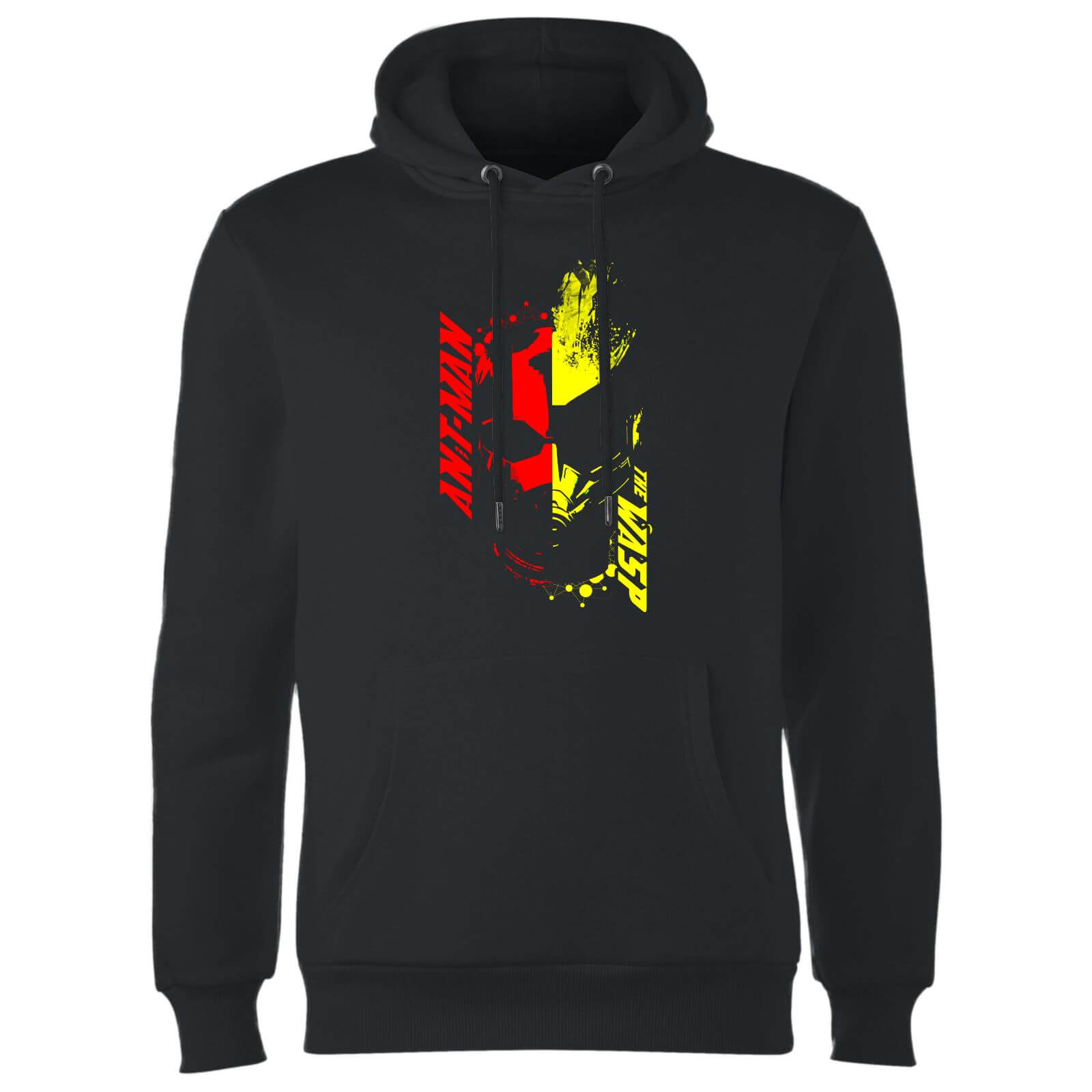 Ant-Man And The Wasp Split Face Hoodie - Black
