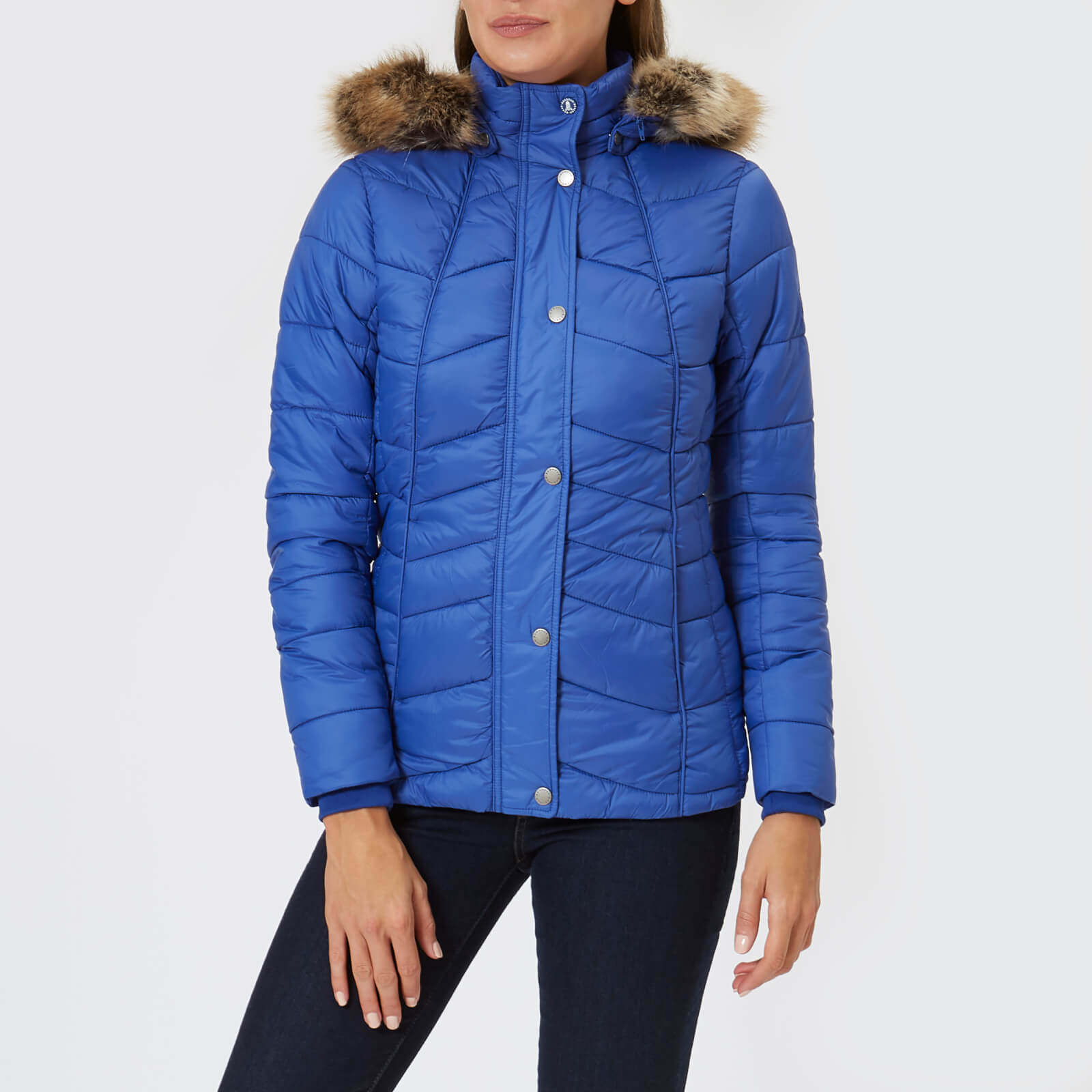 512b72798a15 Barbour Women s Bernera Quilt Jacket - Seablue Navy Womens Clothing ...