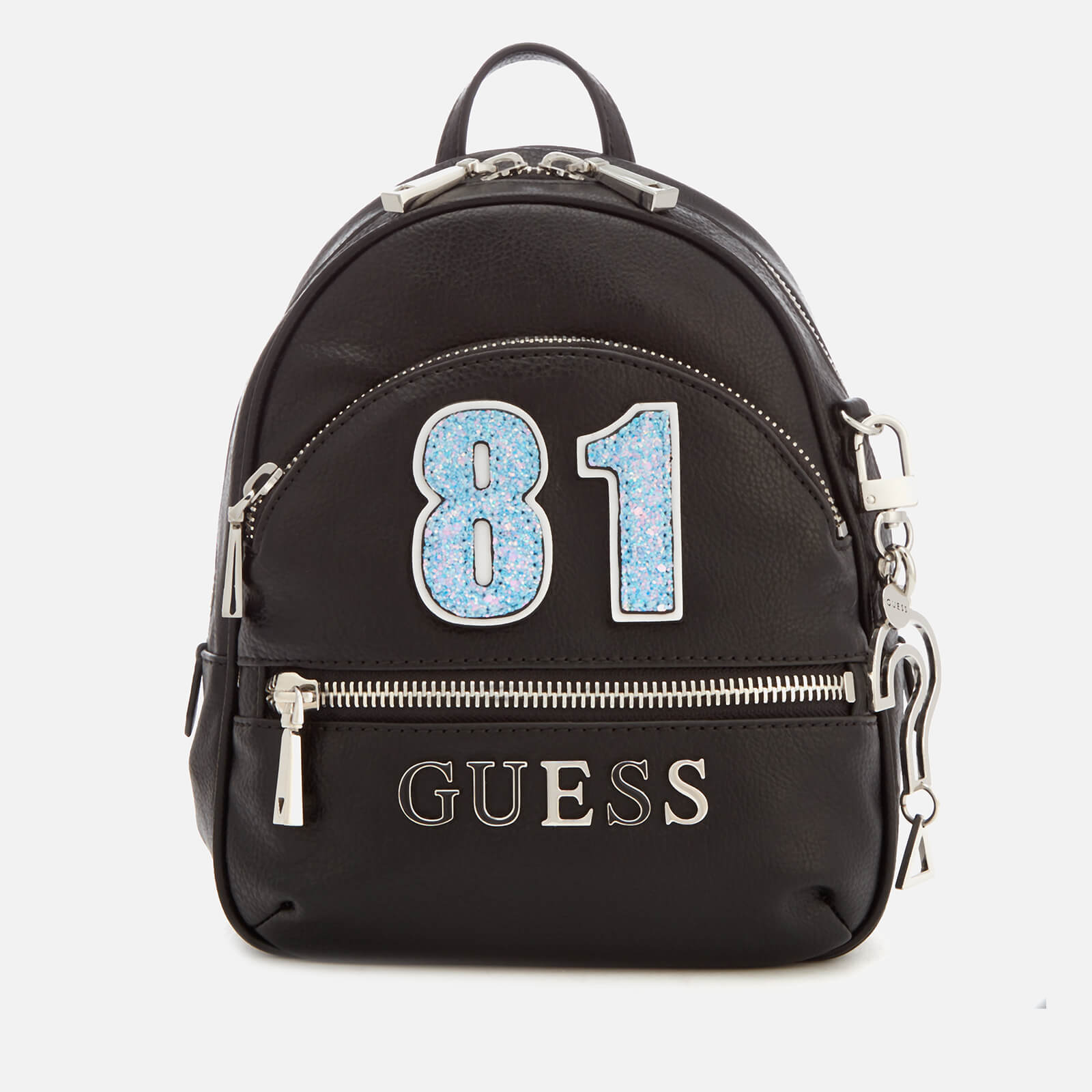 13257d9bc91 Guess Women s Manhattan Small Backpack - Black Womens Accessories ...